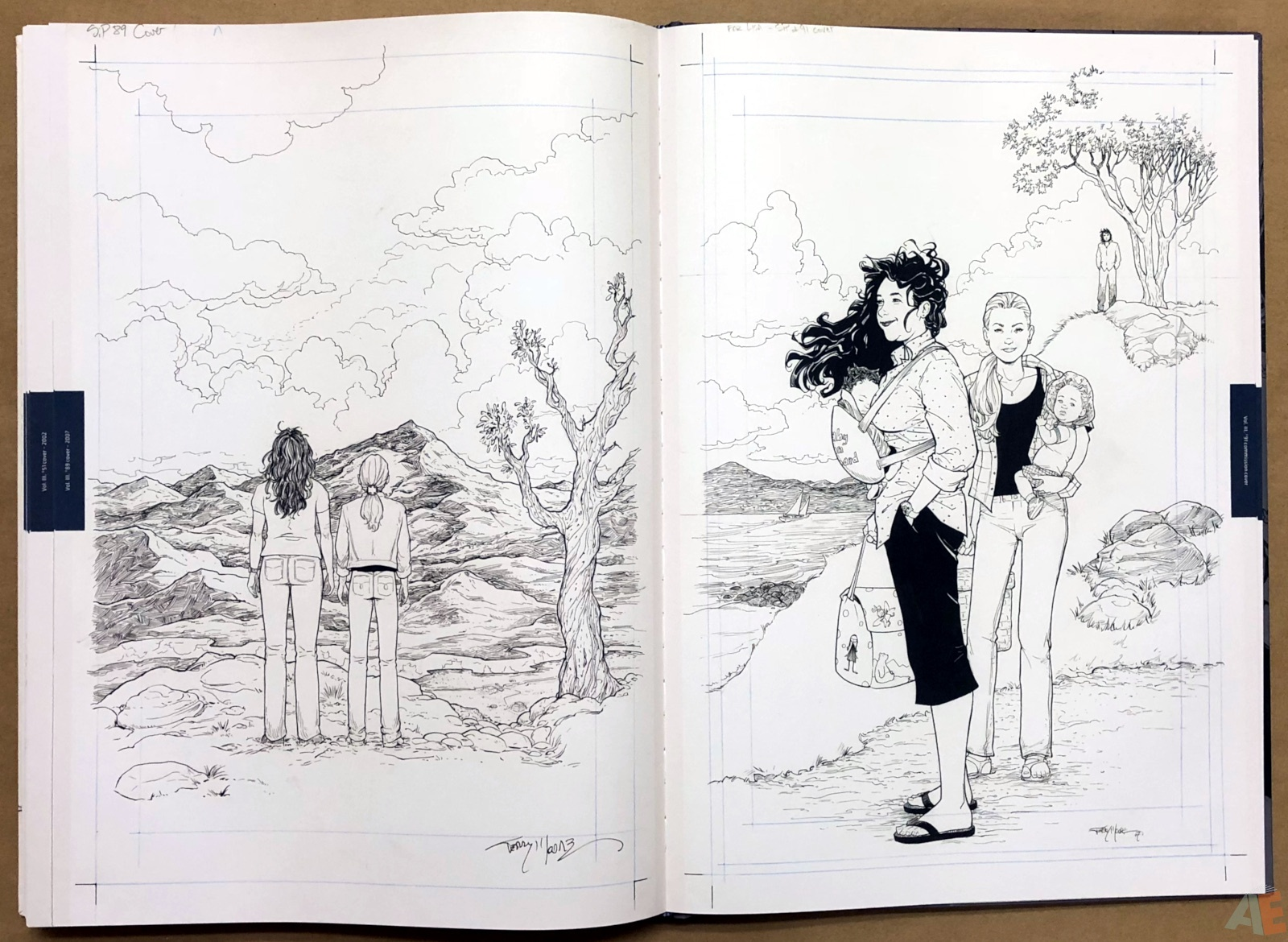 Terry Moore Strangers In Paradise Gallery Edition 46