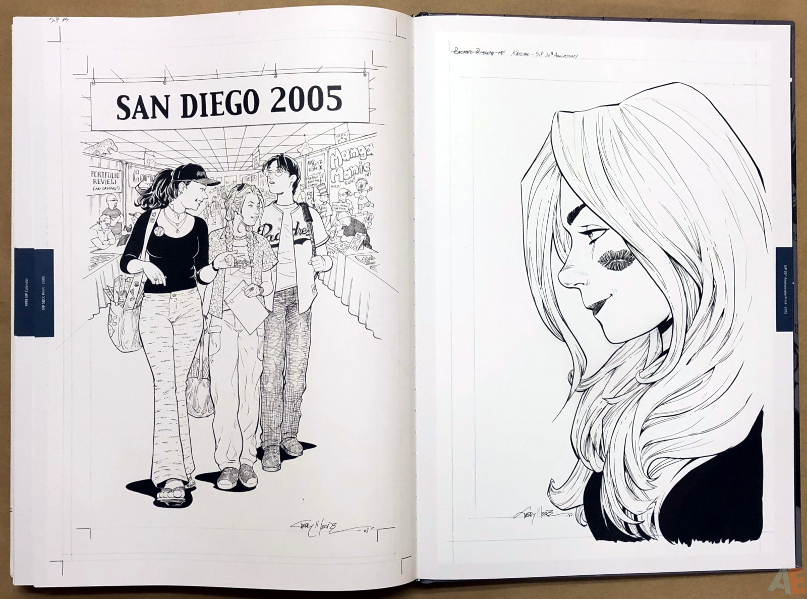 Terry Moore Strangers In Paradise Gallery Edition 48