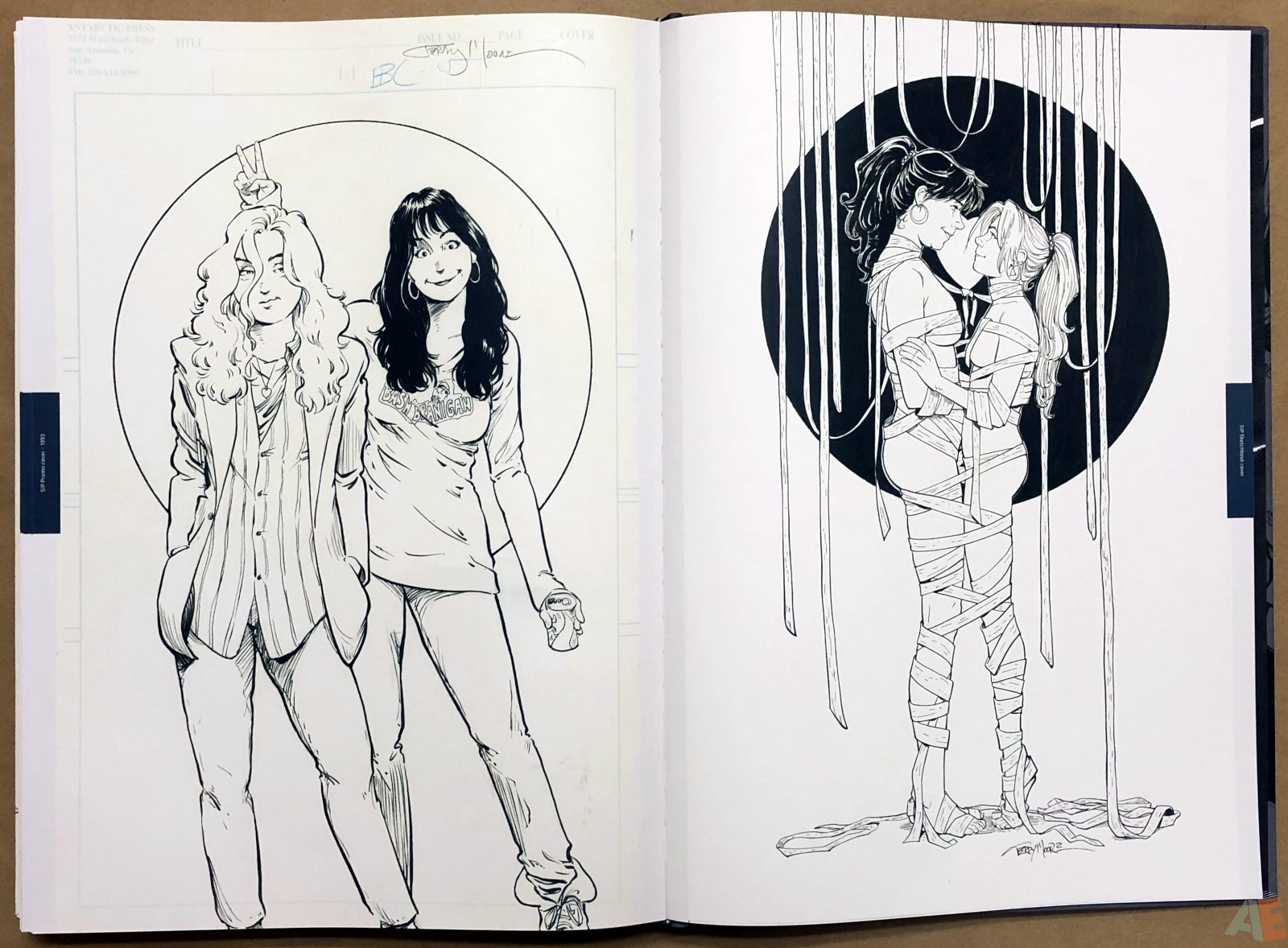 Terry Moore Strangers In Paradise Gallery Edition 50
