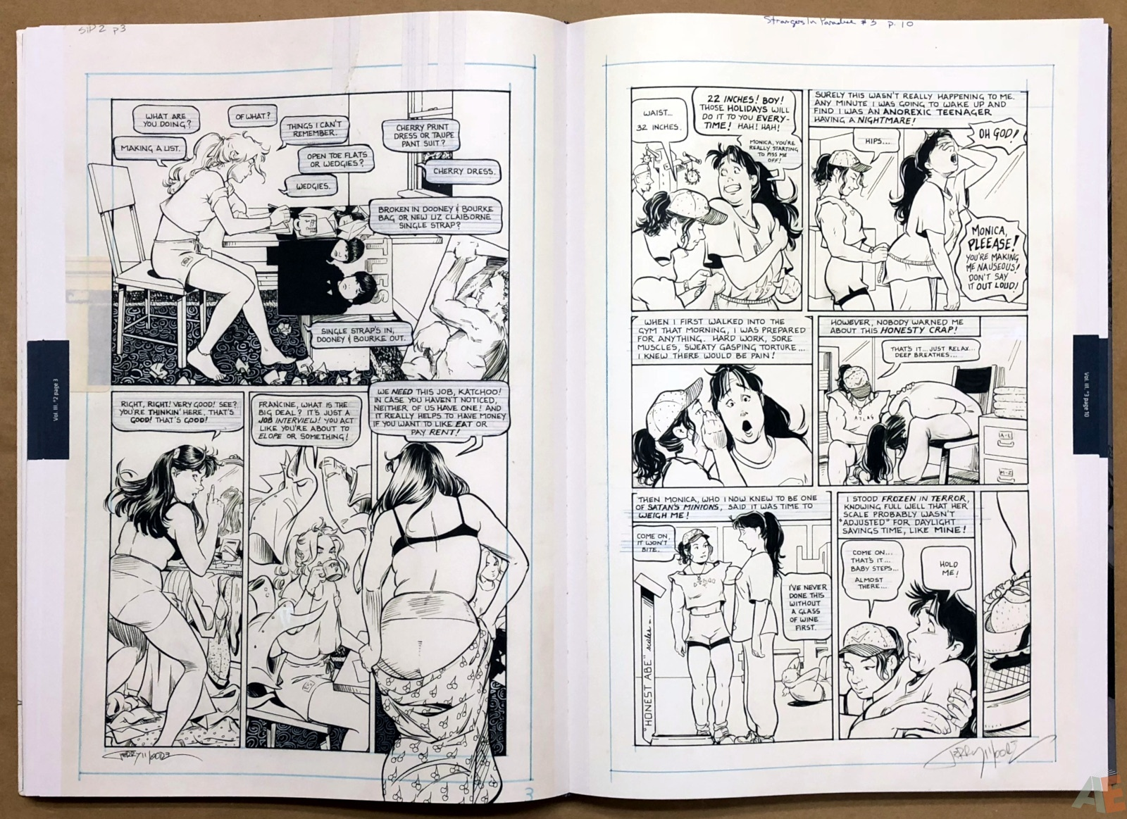 Terry Moore Strangers In Paradise Gallery Edition 20