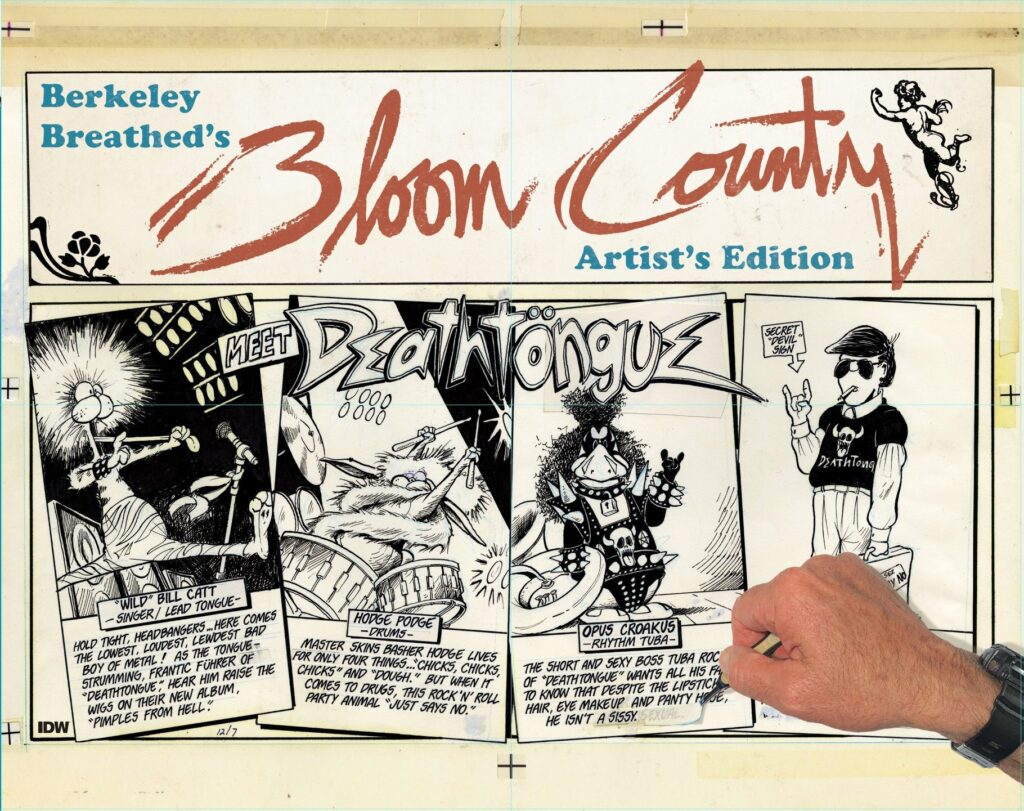 Out today: Berkeley Breathed's Bloom County Artist's Edition 1