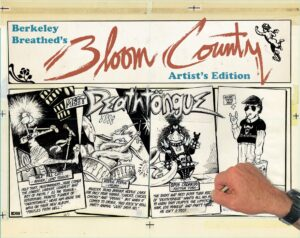 Berkeley Breathed's Bloom County Artist's Edition 1