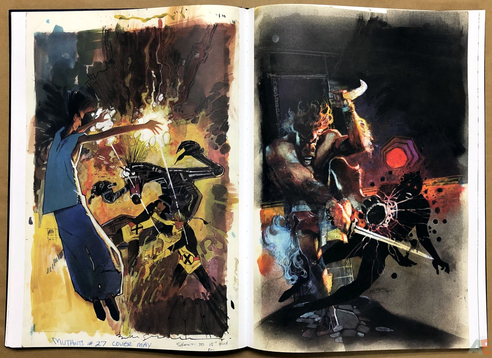 Bill Sienkiewicz's Mutants and Moon Knights… and Assassins… Artifact Edition