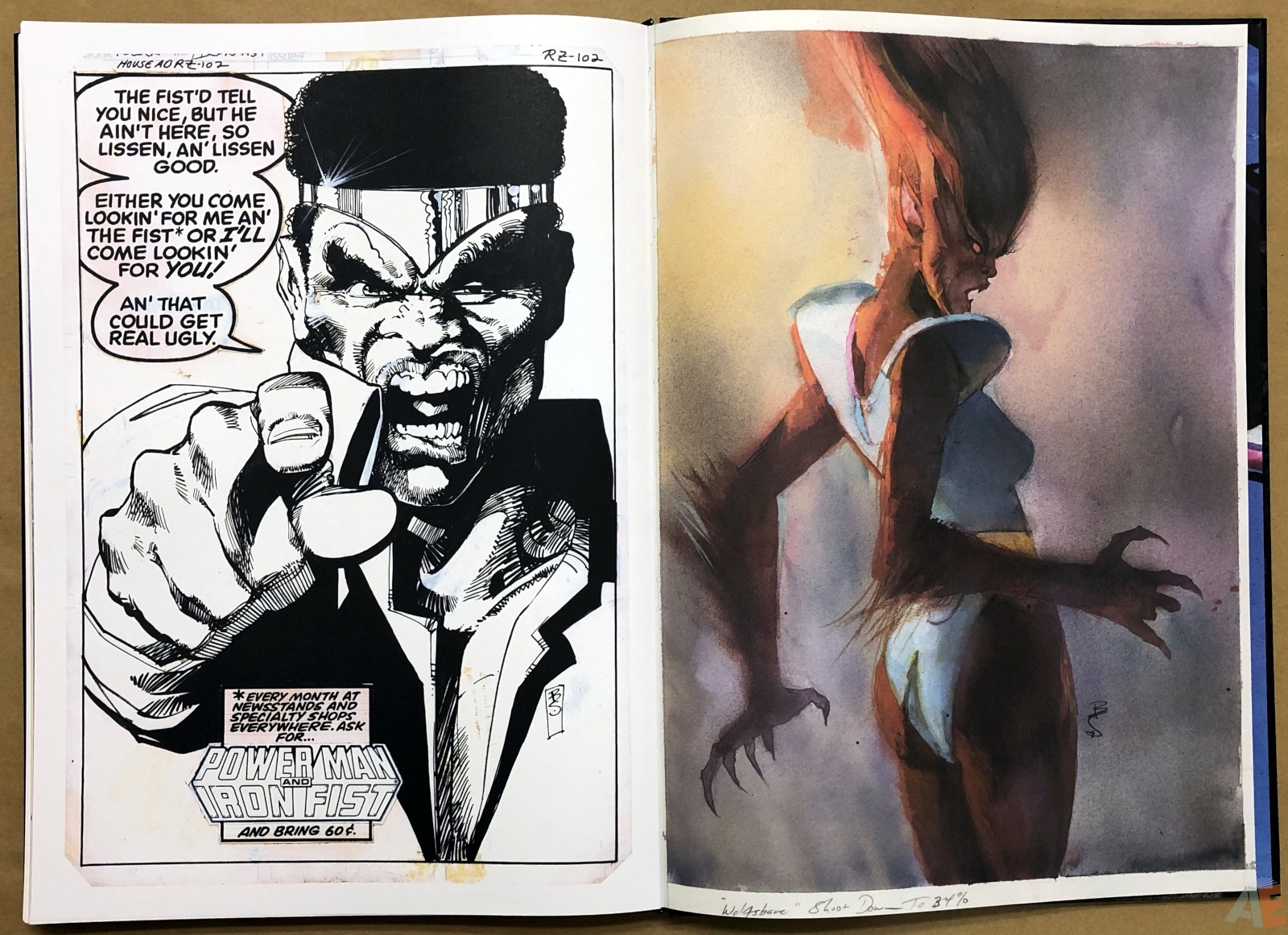 SIGNED Bill Sienkiewicz Mutants /& Moon Knights Elektra Artifact Editon
