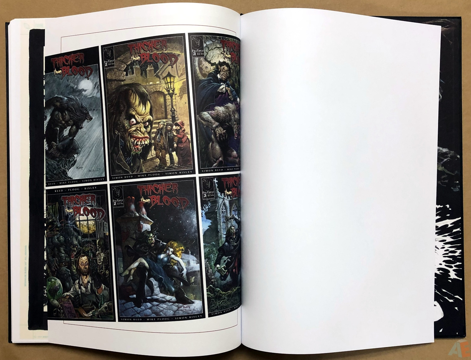 Thicker Than Blood: Collected Artwork Edition 38