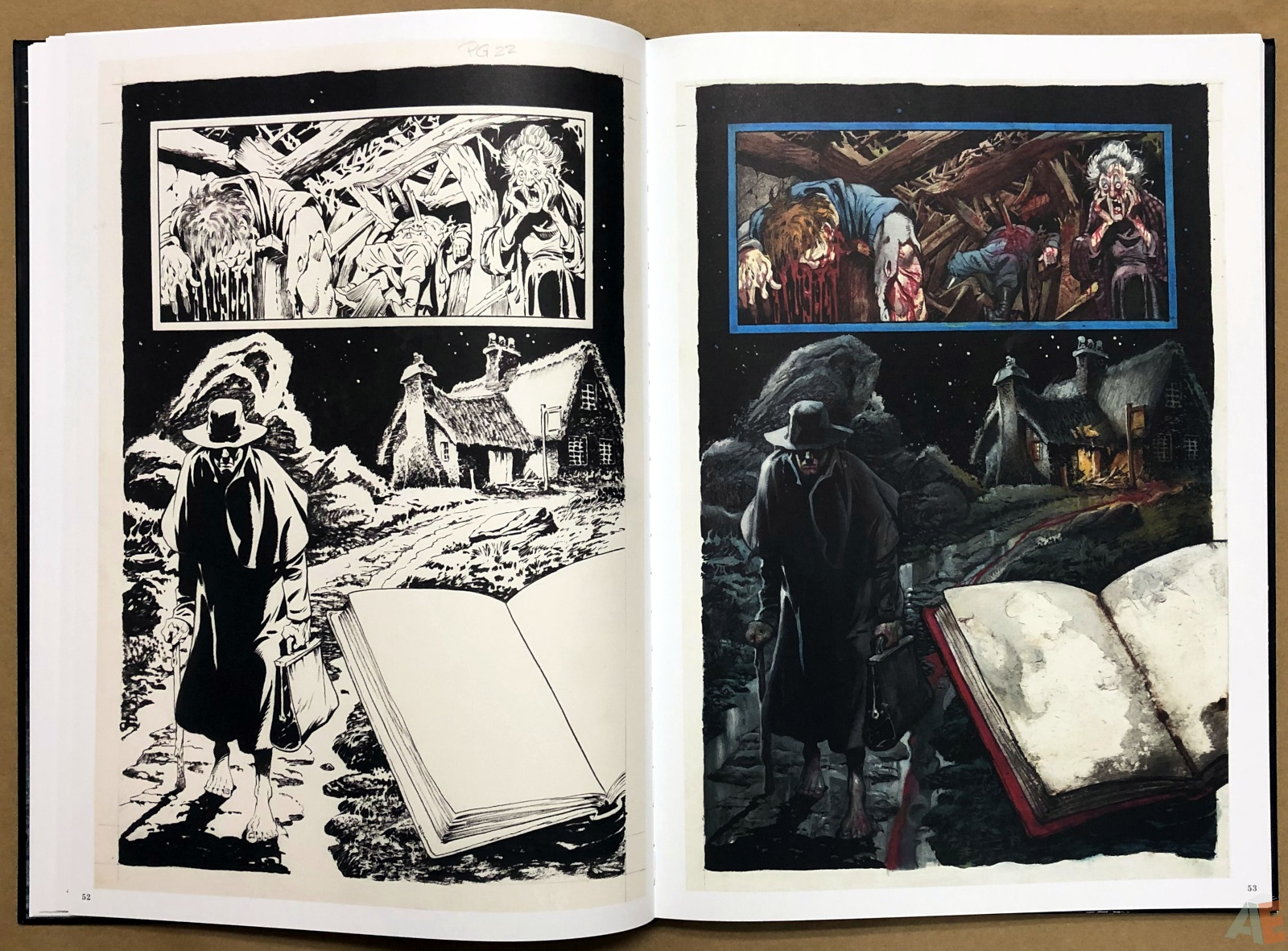 Thicker Than Blood: Collected Artwork Edition 16