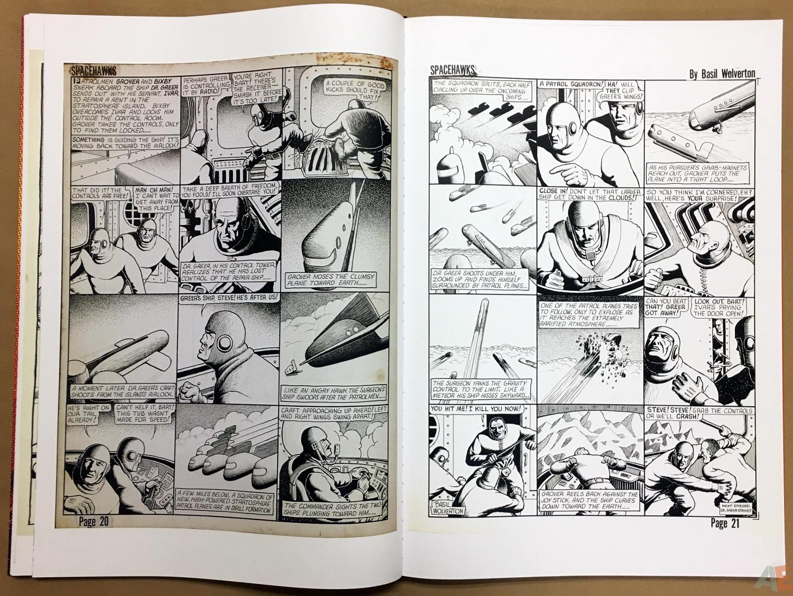 Basil Wolverton's Weird Worlds Artist's Edition 24