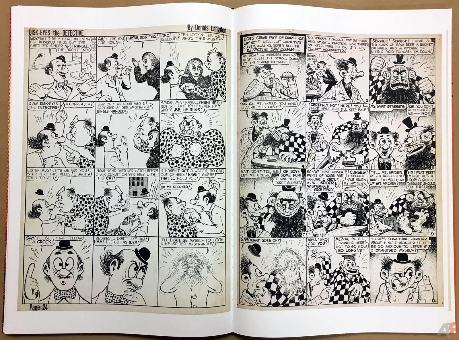 Basil Wolverton's Weird Worlds Artist's Edition 34