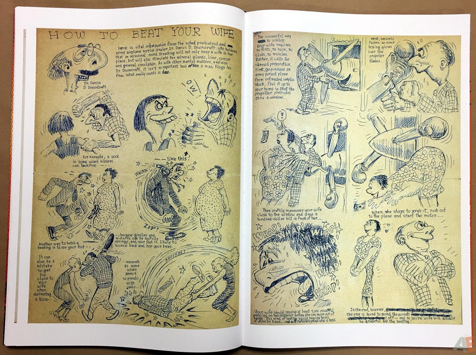 Basil Wolverton's Weird Worlds Artist's Edition 36