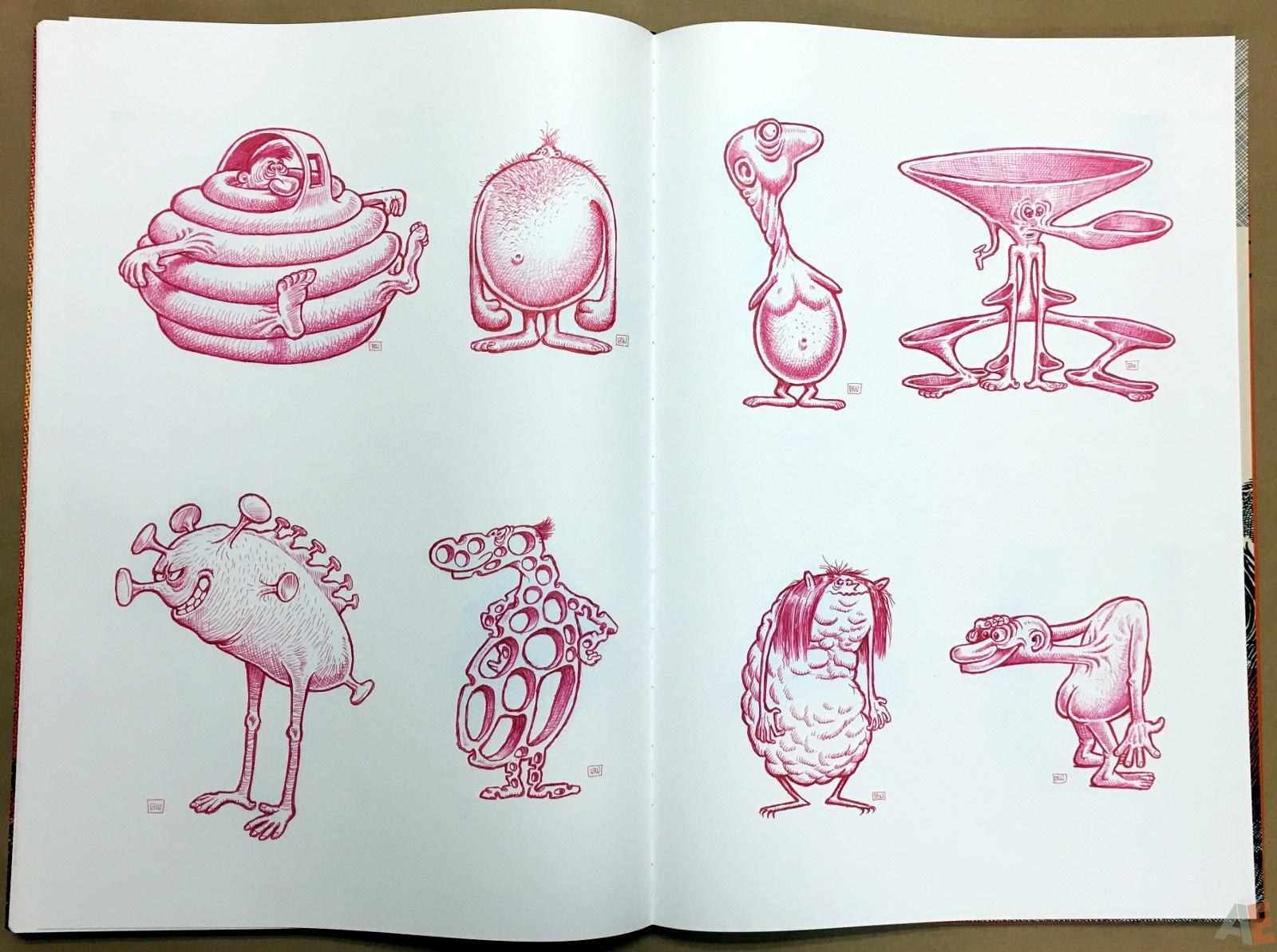 Basil Wolverton's Weird Worlds Artist's Edition 40
