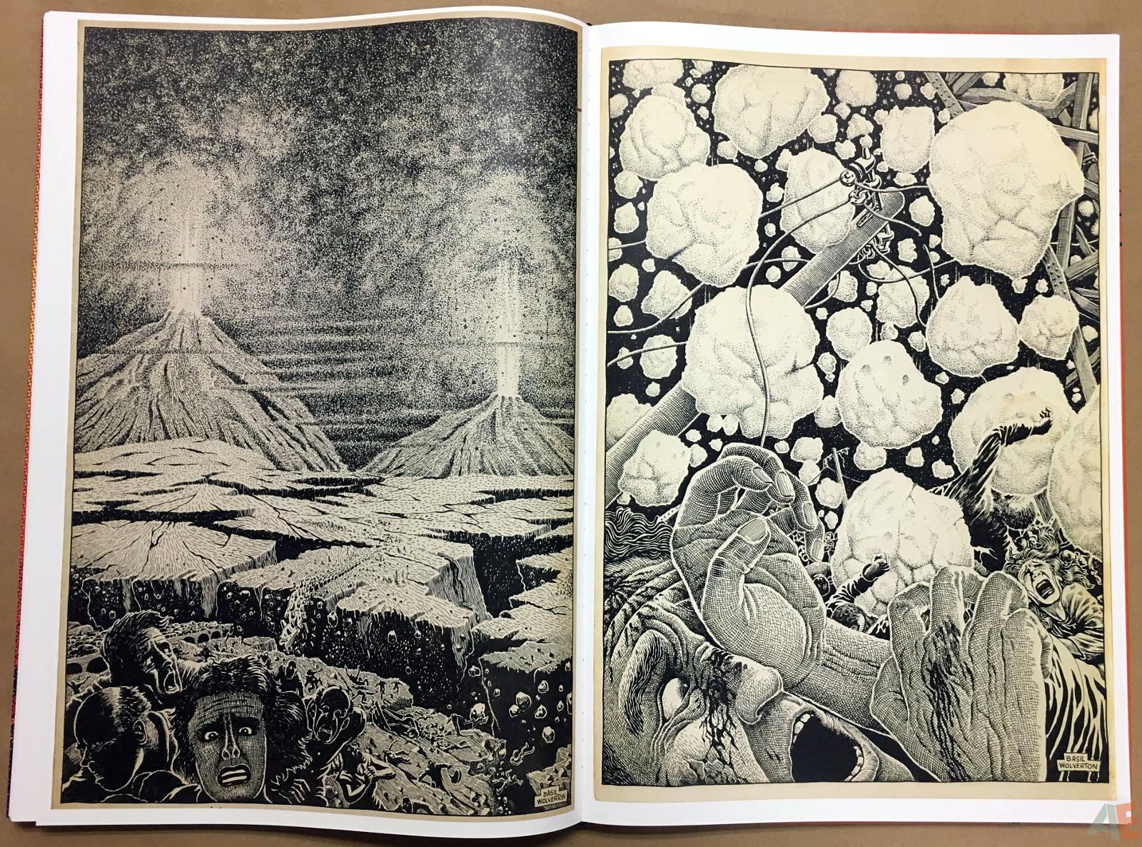 Basil Wolverton's Weird Worlds Artist's Edition 42