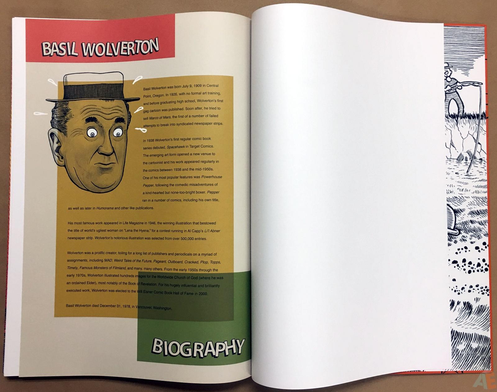 Basil Wolverton's Weird Worlds Artist's Edition 48