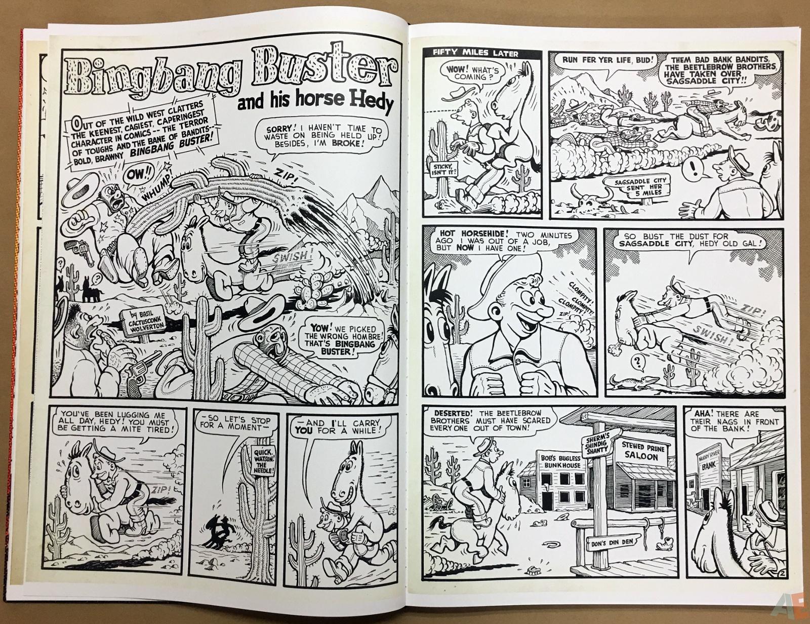 Basil Wolverton's Weird Worlds Artist's Edition 16