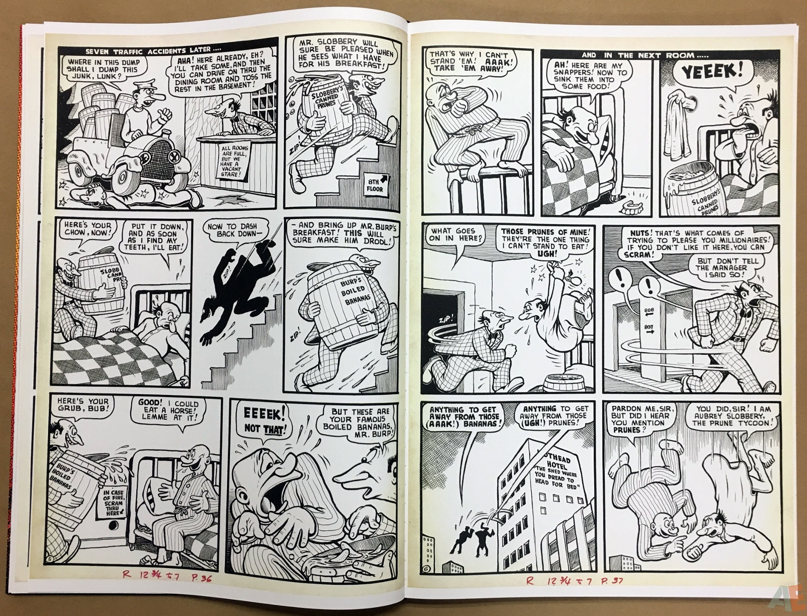 Basil Wolverton's Weird Worlds Artist's Edition 18