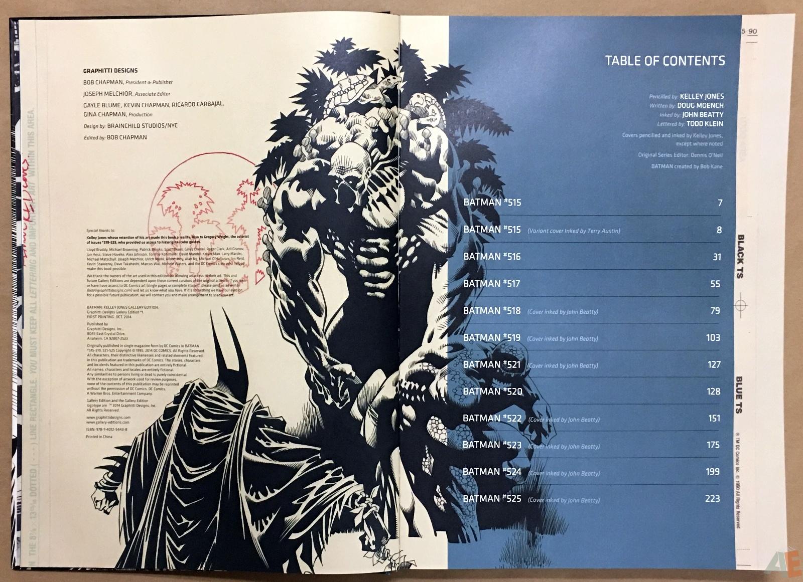 Batman: Kelley Jones Gallery Edition 4
