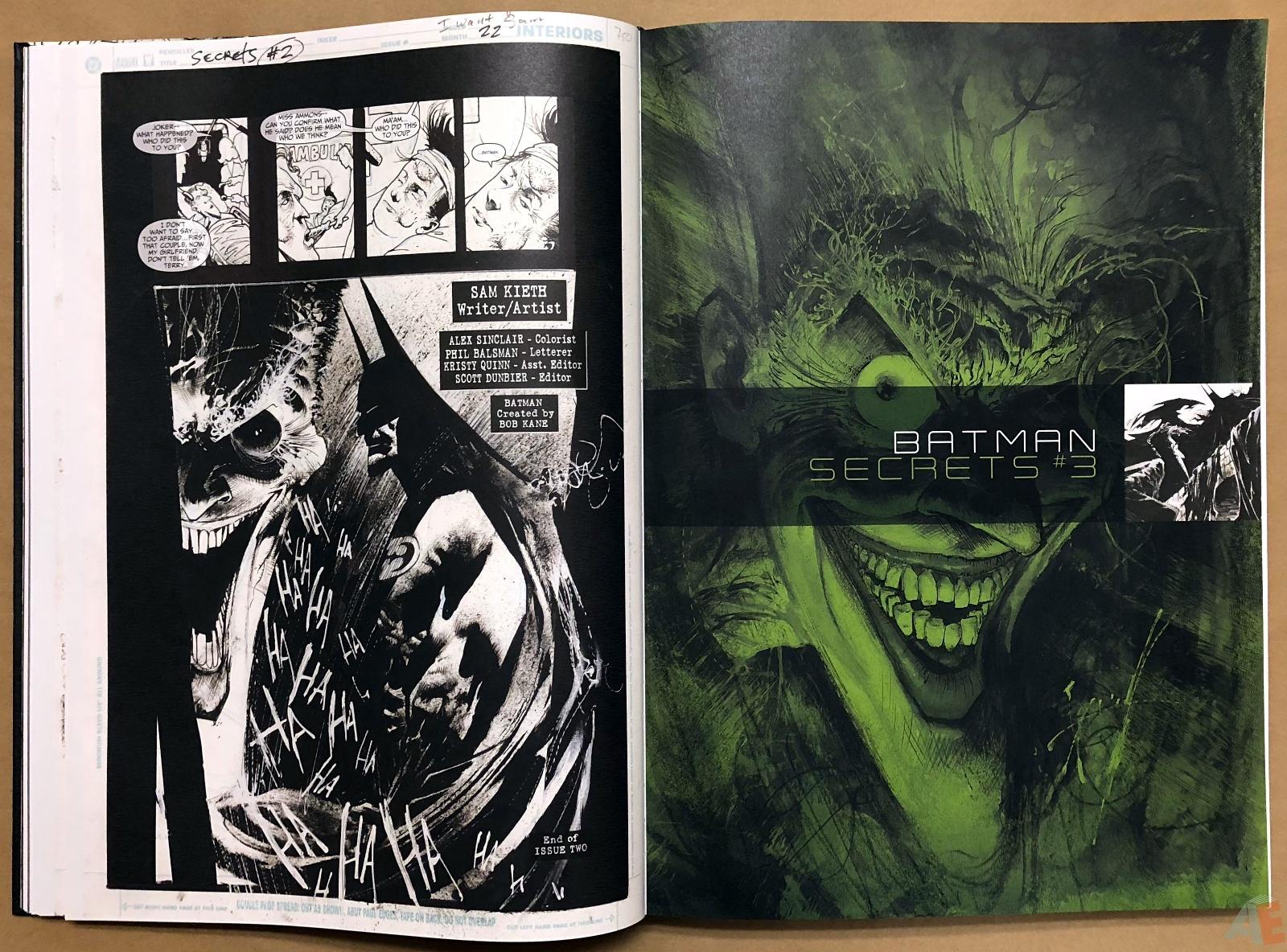 Batman: Secrets – Sam Kieth Gallery Edition 21