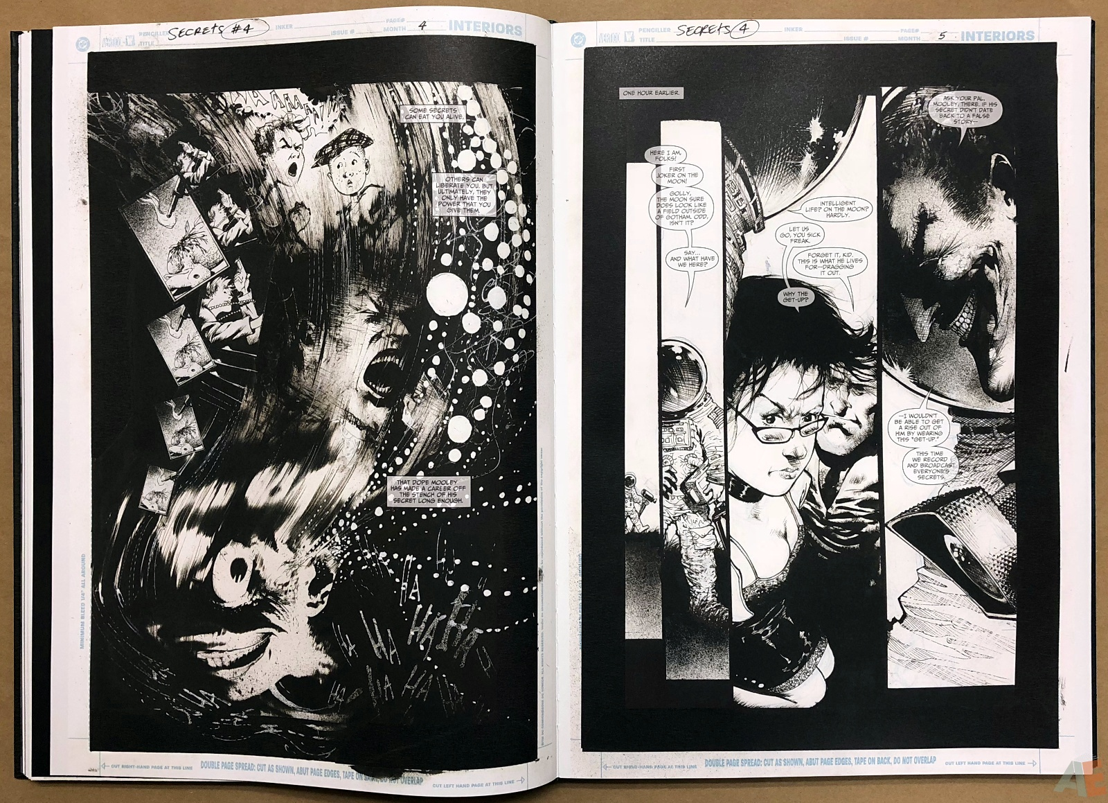 Batman: Secrets – Sam Kieth Gallery Edition 23