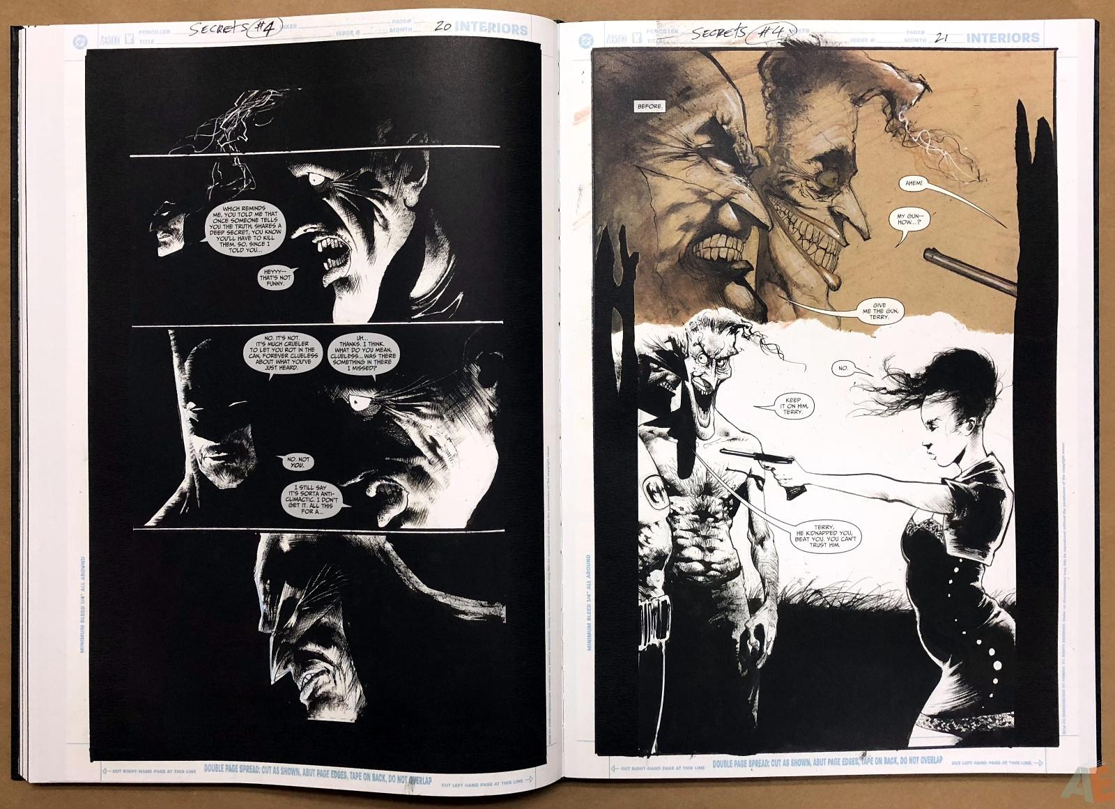 Batman: Secrets – Sam Kieth Gallery Edition 25