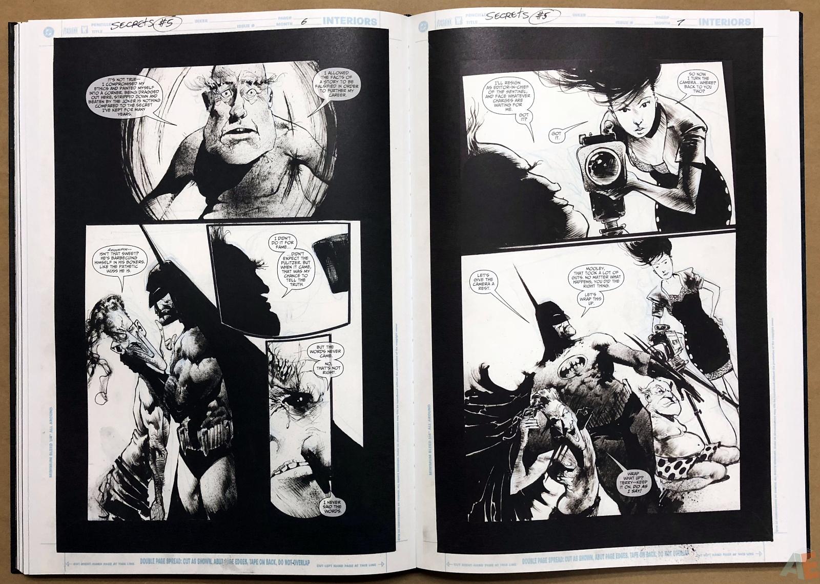 Batman: Secrets – Sam Kieth Gallery Edition 27