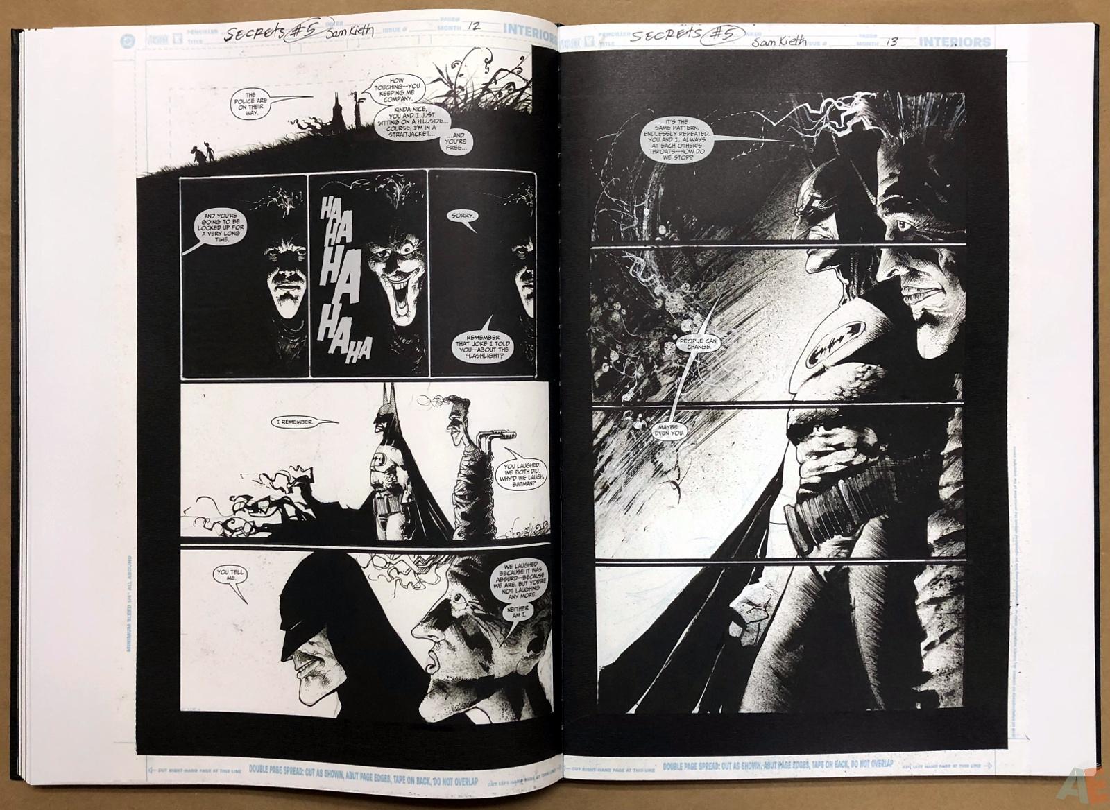 Batman: Secrets – Sam Kieth Gallery Edition 29