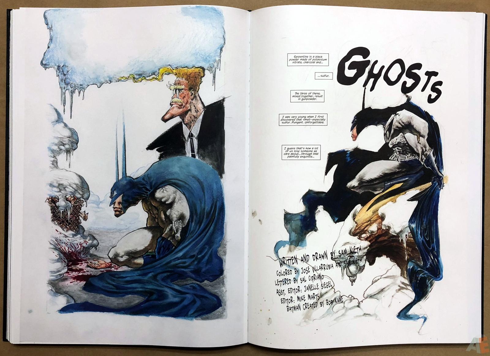 Batman: Secrets – Sam Kieth Gallery Edition 31