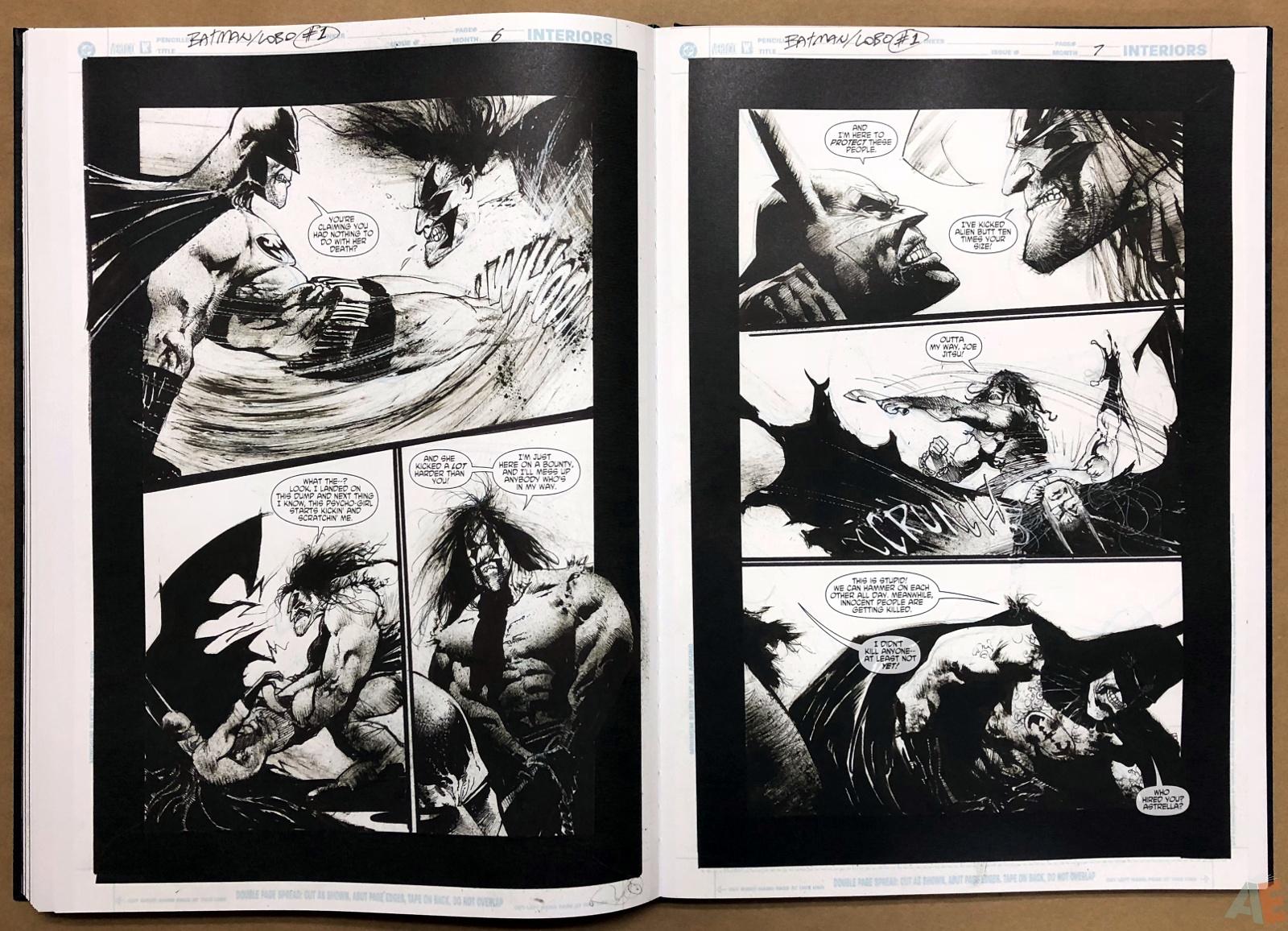 Batman: Secrets – Sam Kieth Gallery Edition 35