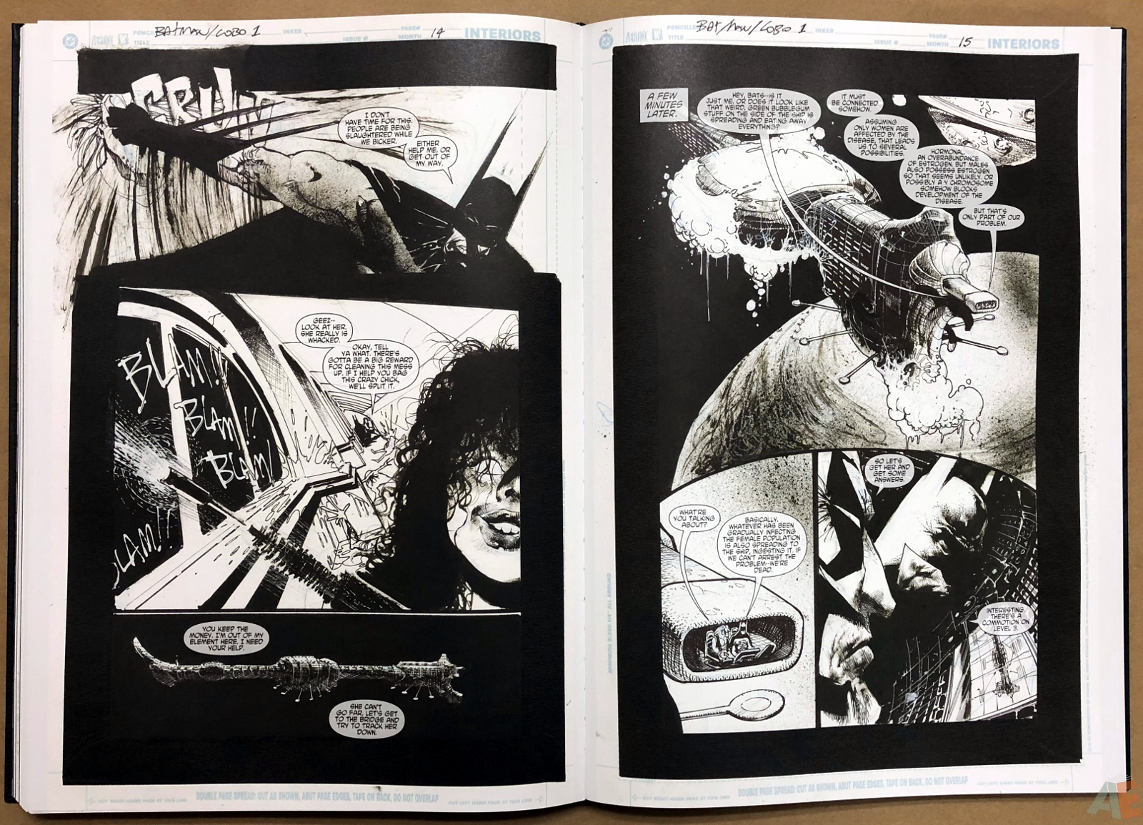 Batman: Secrets – Sam Kieth Gallery Edition 37