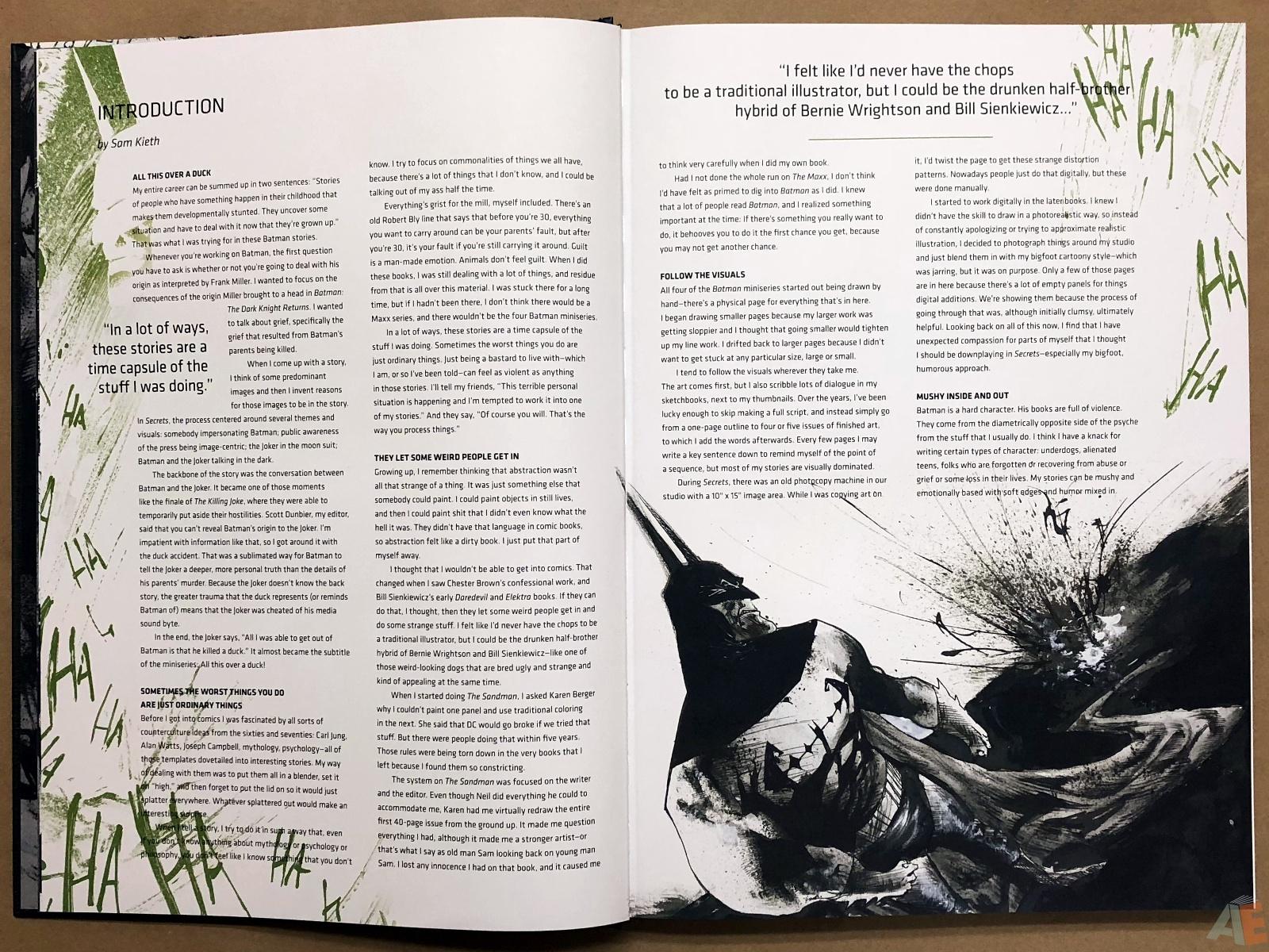 Batman: Secrets – Sam Kieth Gallery Edition 5