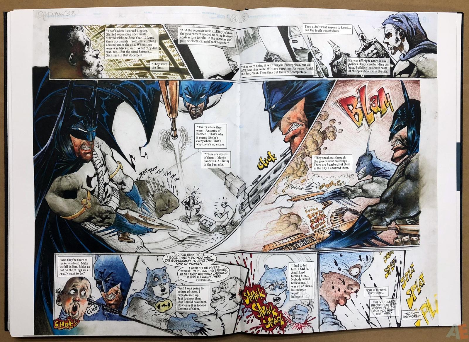 Batman: Secrets – Sam Kieth Gallery Edition 45