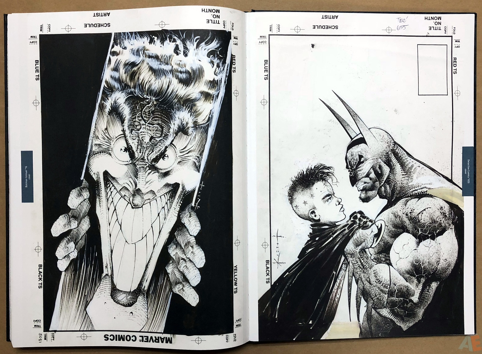 Batman: Secrets – Sam Kieth Gallery Edition 47