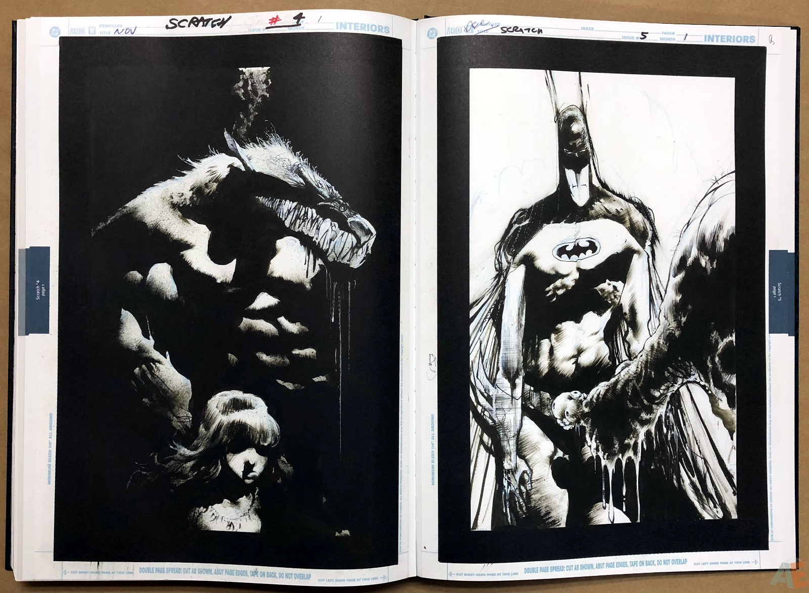 Batman: Secrets – Sam Kieth Gallery Edition 51