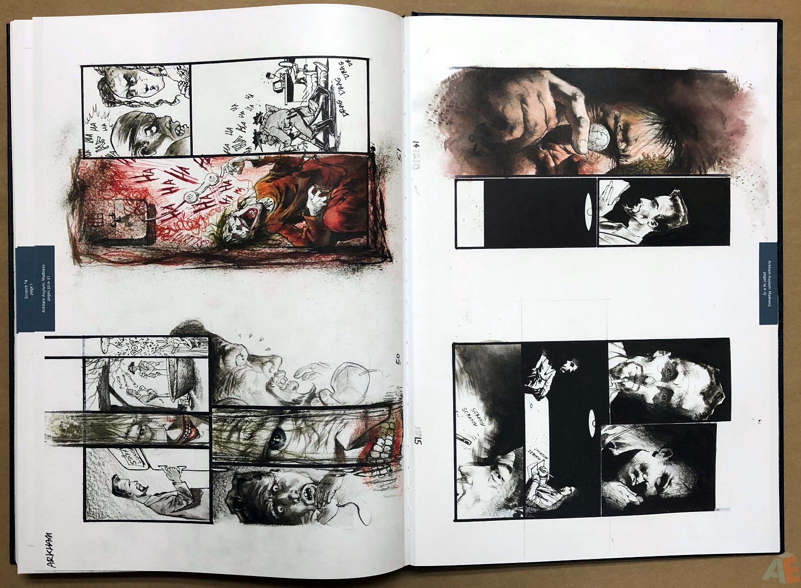 Batman: Secrets – Sam Kieth Gallery Edition 53