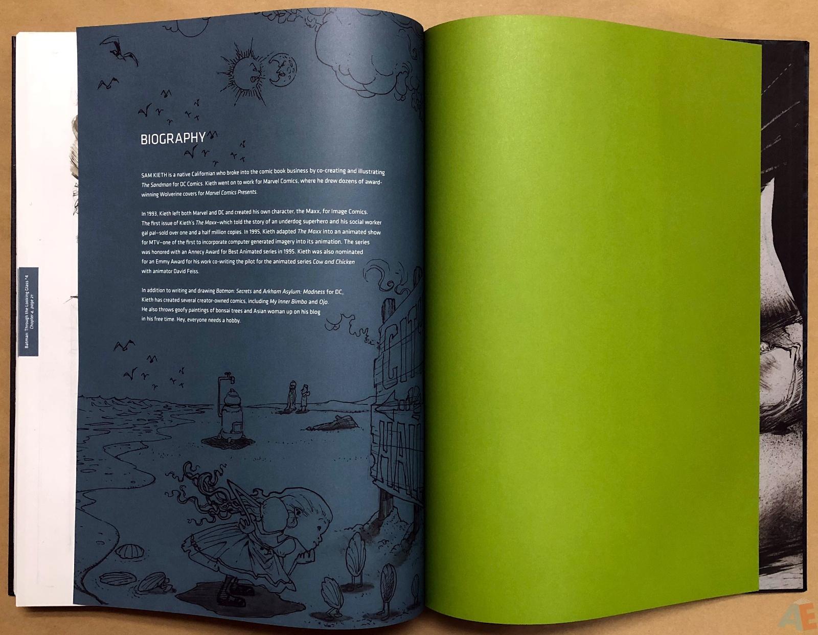 Batman: Secrets – Sam Kieth Gallery Edition 57