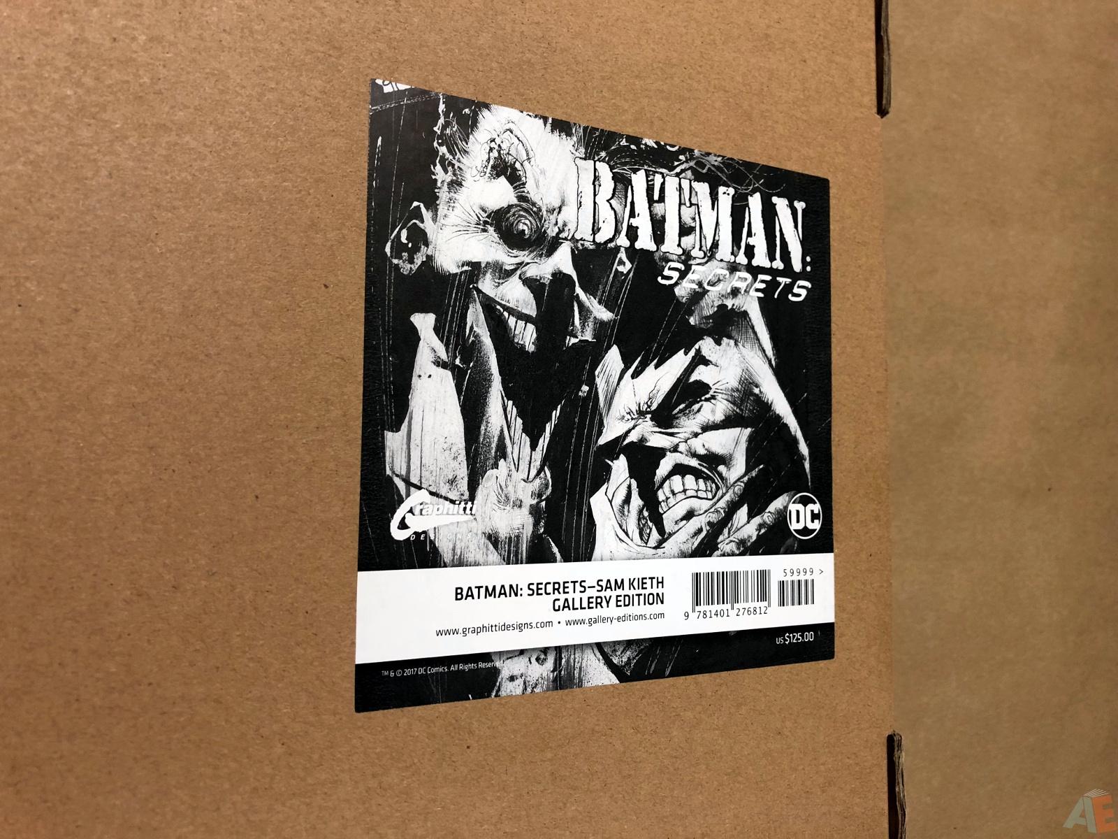 Batman: Secrets – Sam Kieth Gallery Edition 59