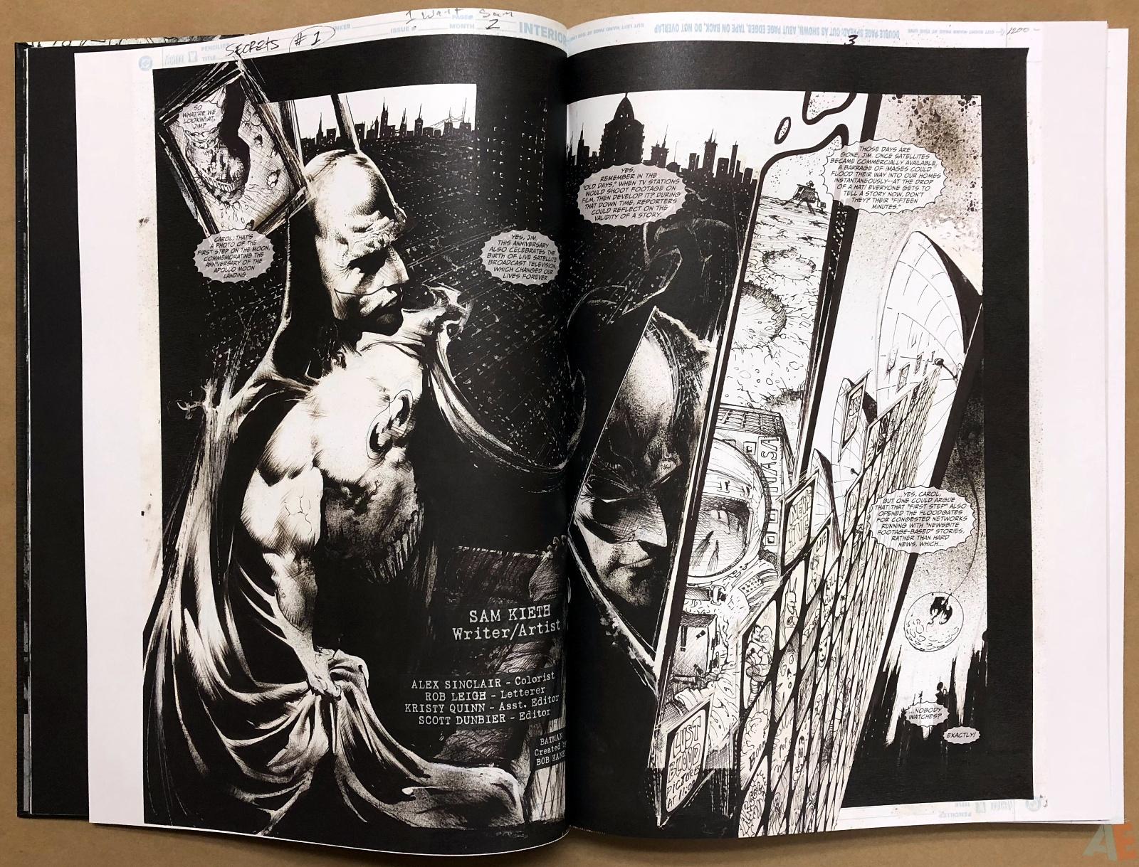 Batman: Secrets – Sam Kieth Gallery Edition 9