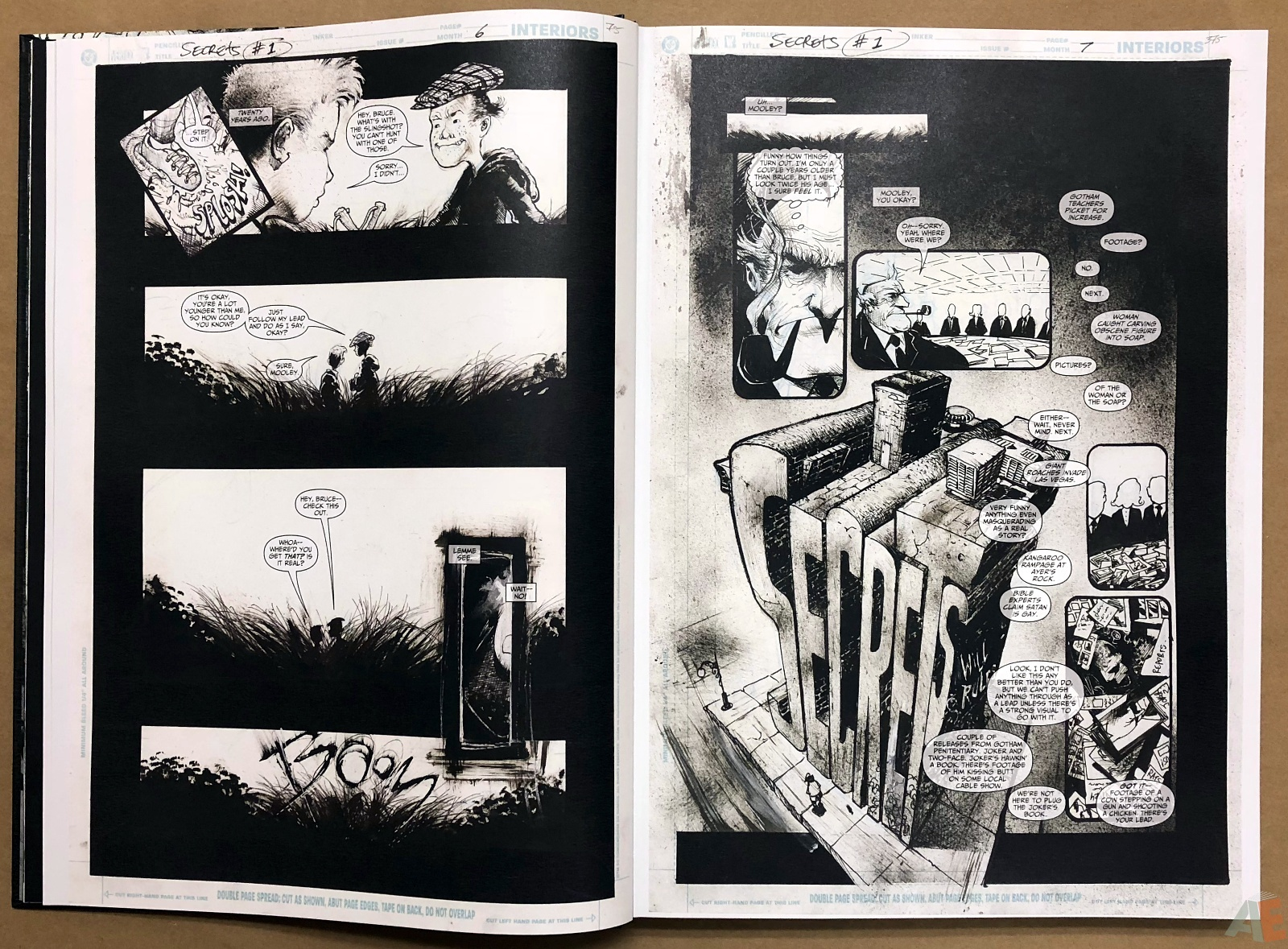 Batman: Secrets – Sam Kieth Gallery Edition 11