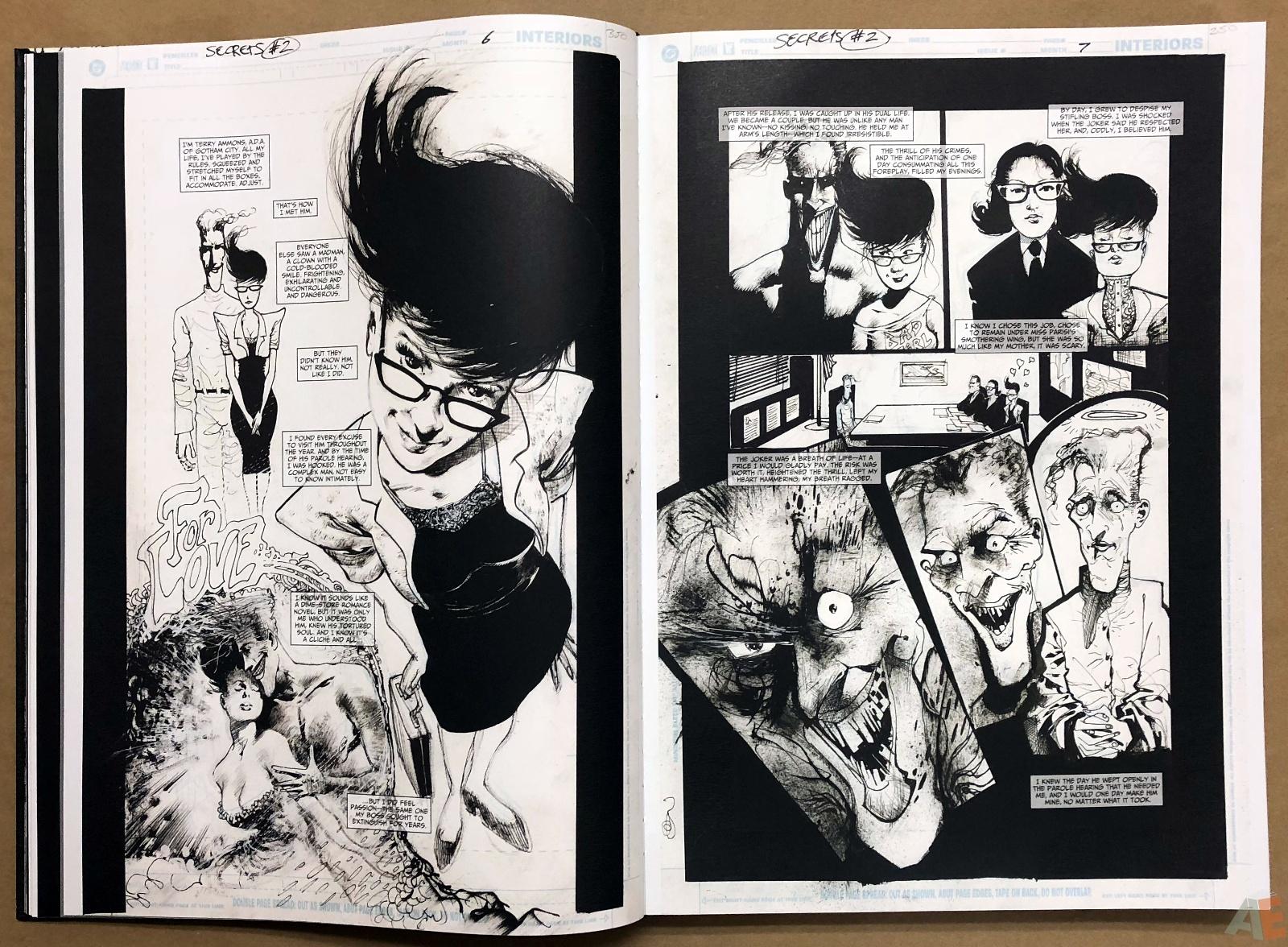 Batman: Secrets – Sam Kieth Gallery Edition 15