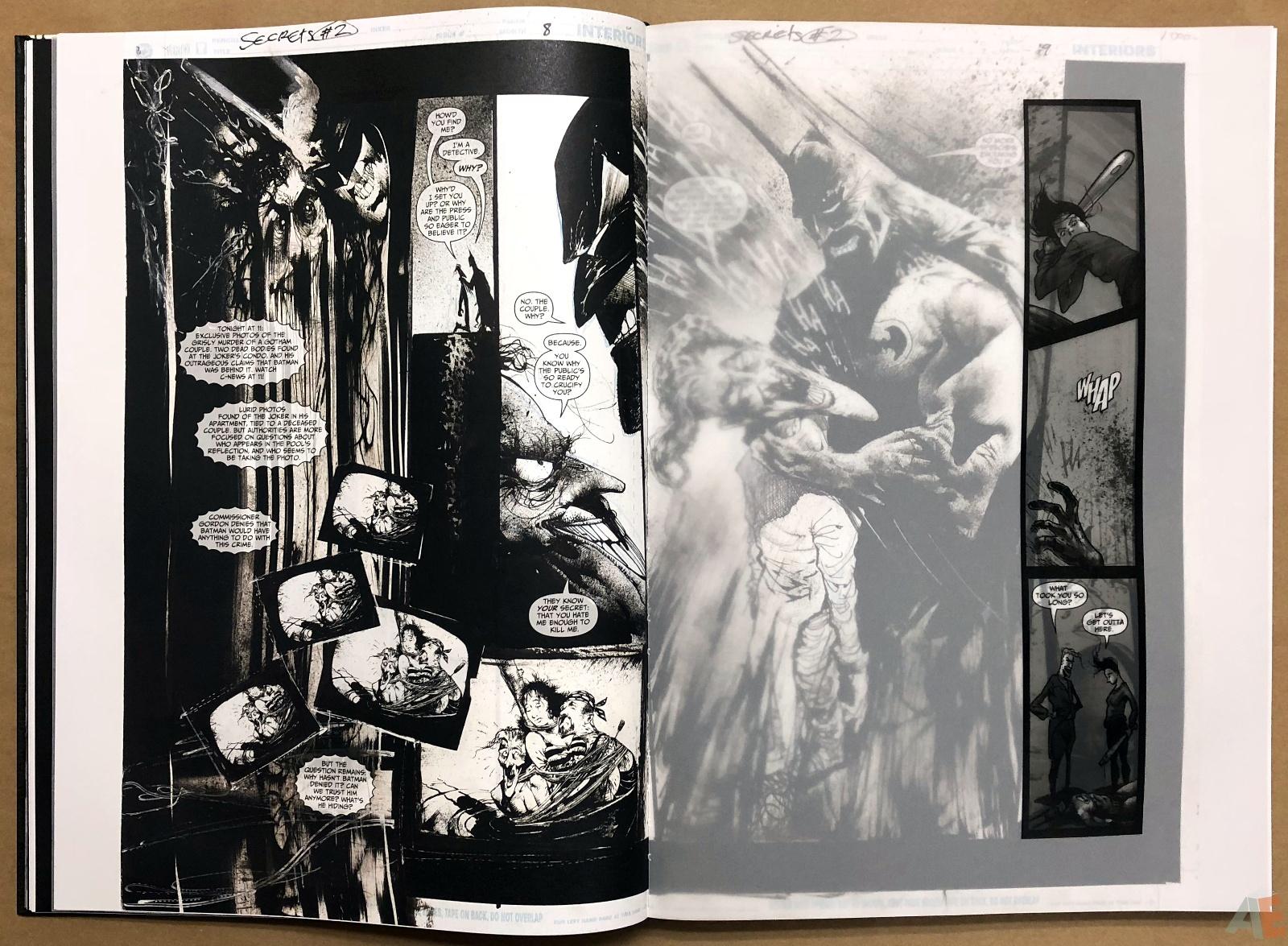 Batman: Secrets – Sam Kieth Gallery Edition 17