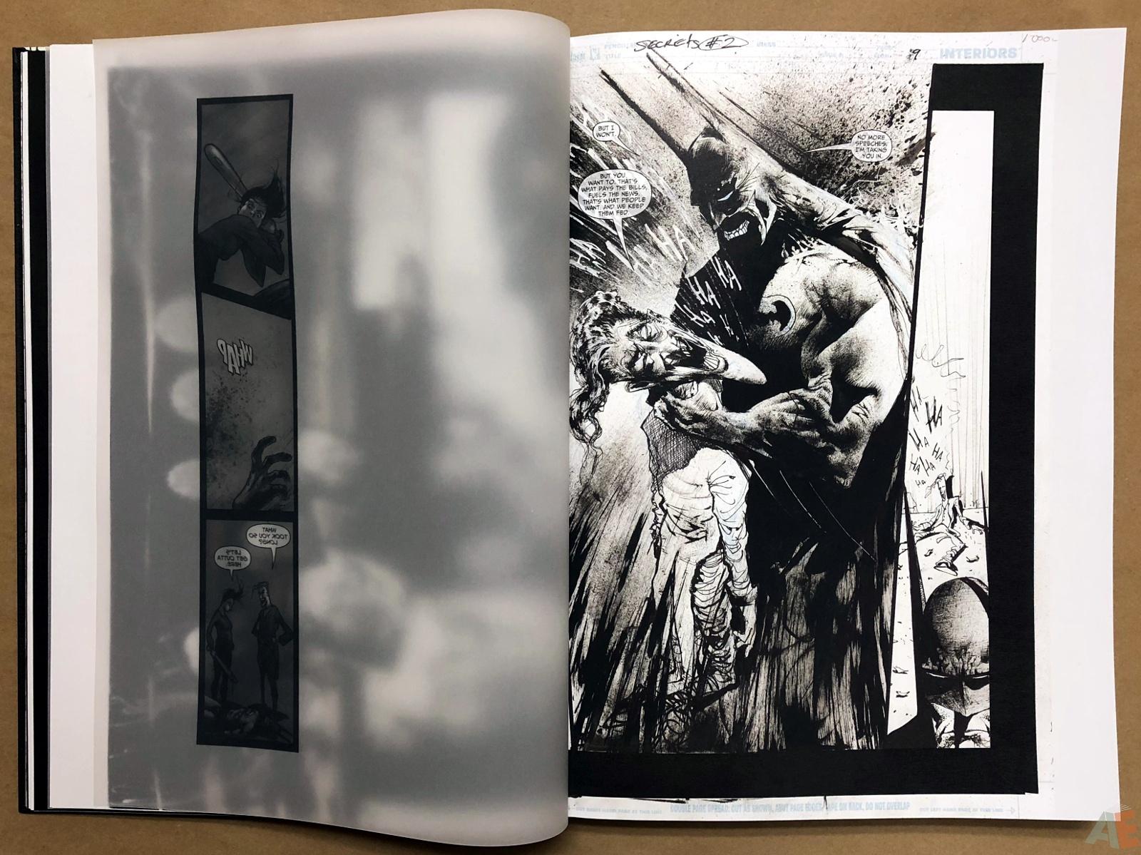 Batman: Secrets – Sam Kieth Gallery Edition 19