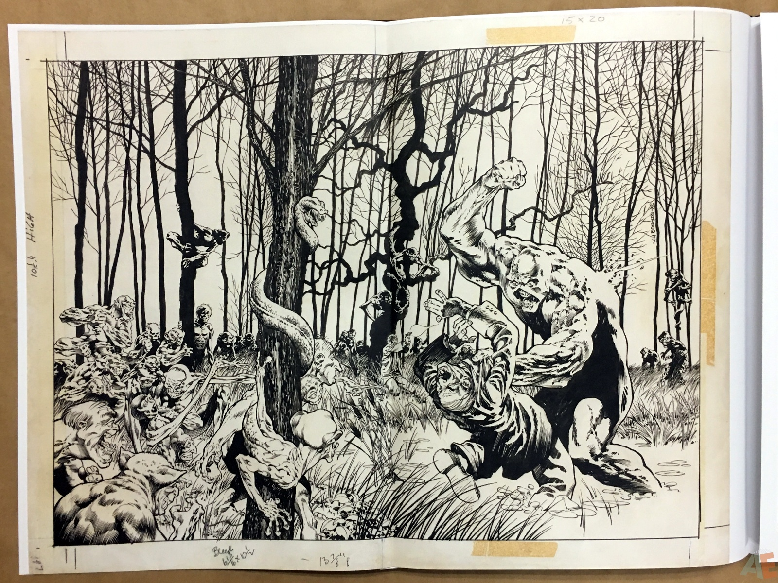 Bernie Wrightson Artifact Edition 28