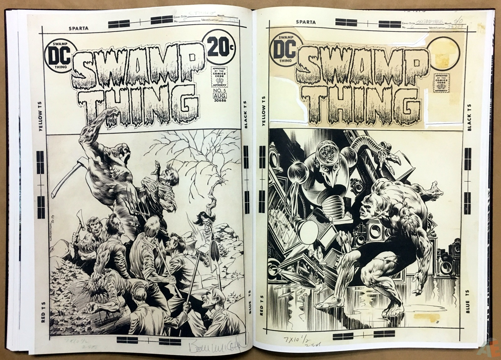 Bernie Wrightson Artifact Edition 30