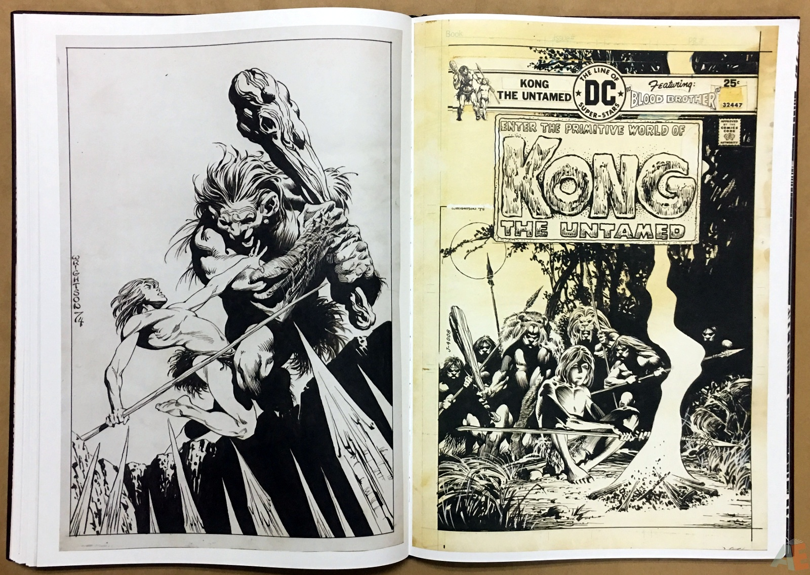Bernie Wrightson Artifact Edition 34