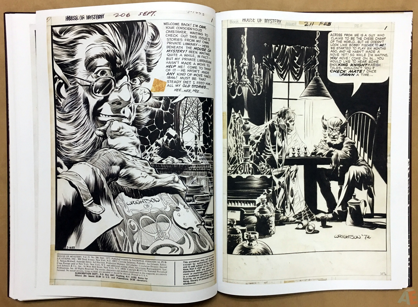 Bernie Wrightson Artifact Edition 36