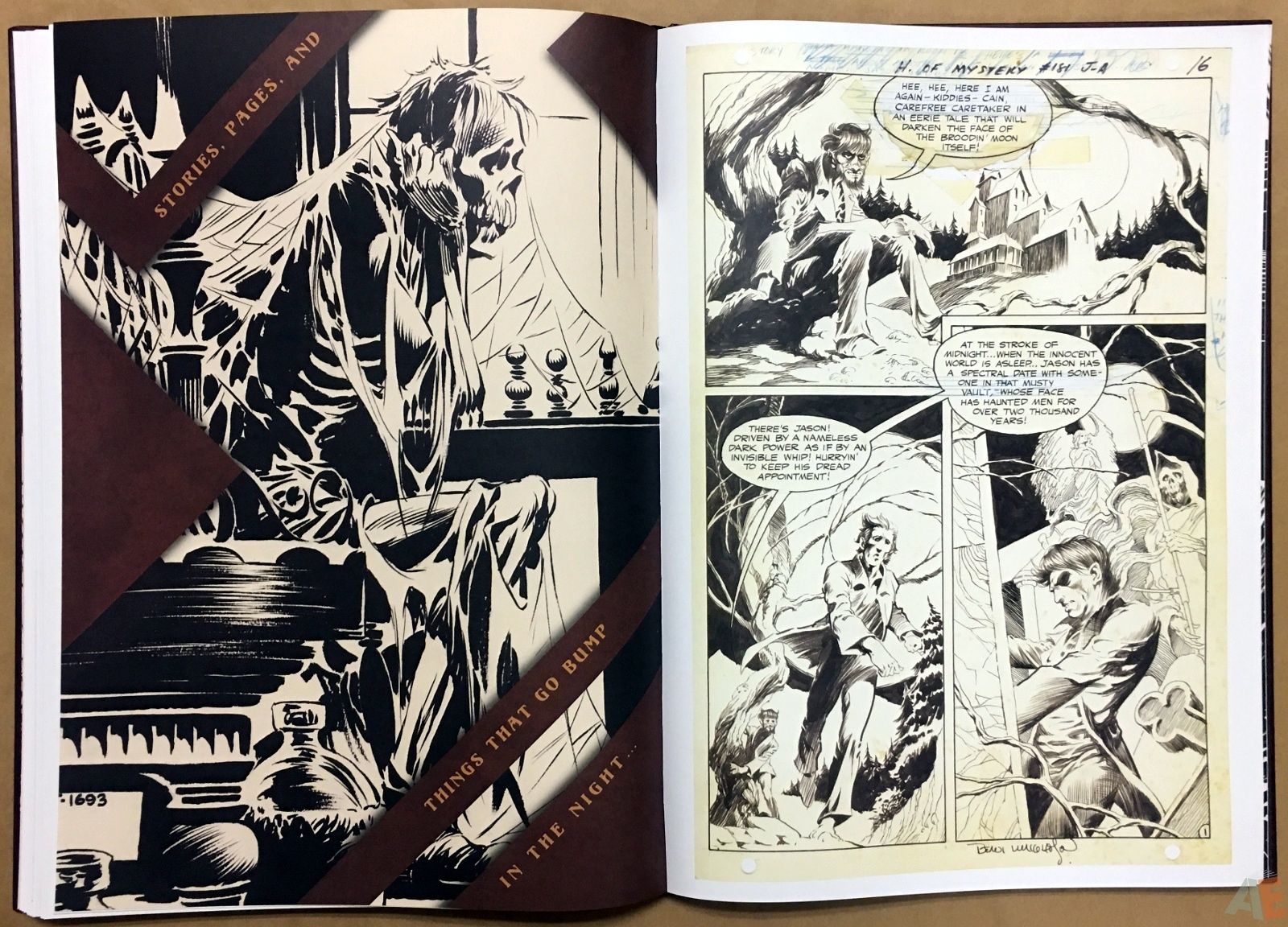 Bernie Wrightson Artifact Edition 40