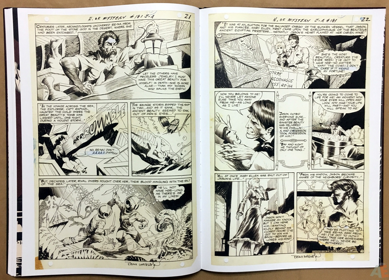 Bernie Wrightson Artifact Edition 42