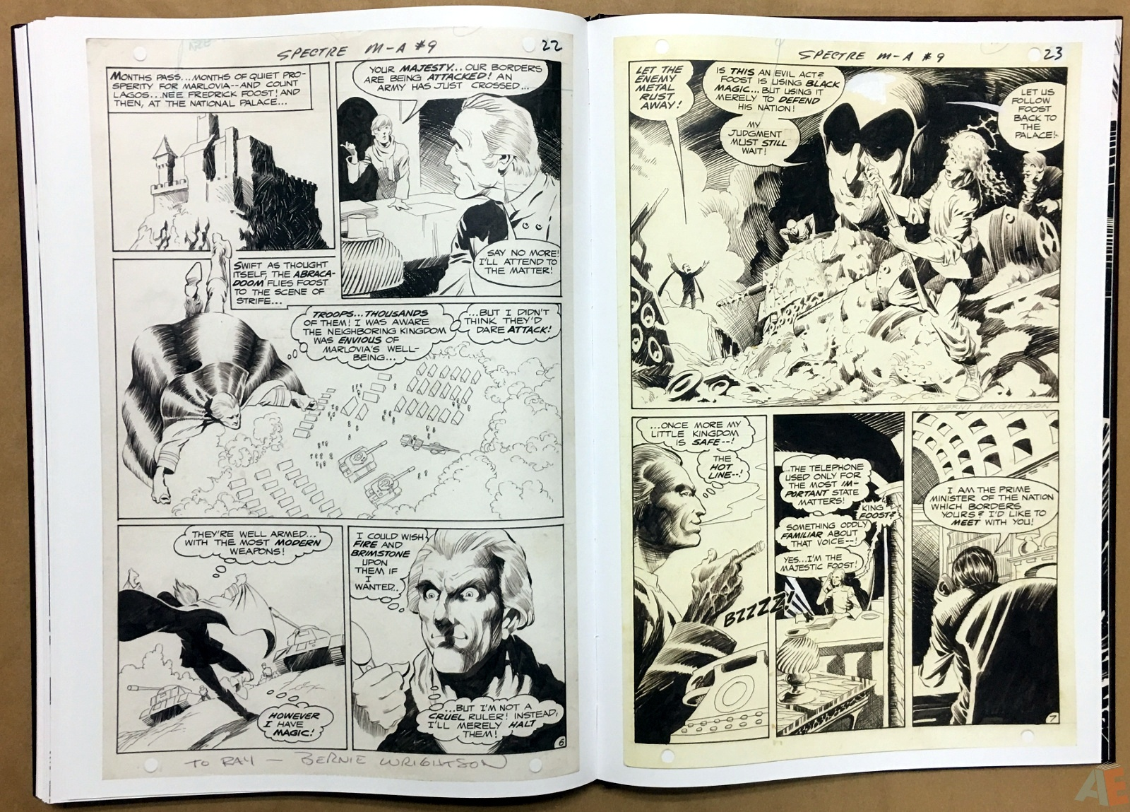Bernie Wrightson Artifact Edition 48