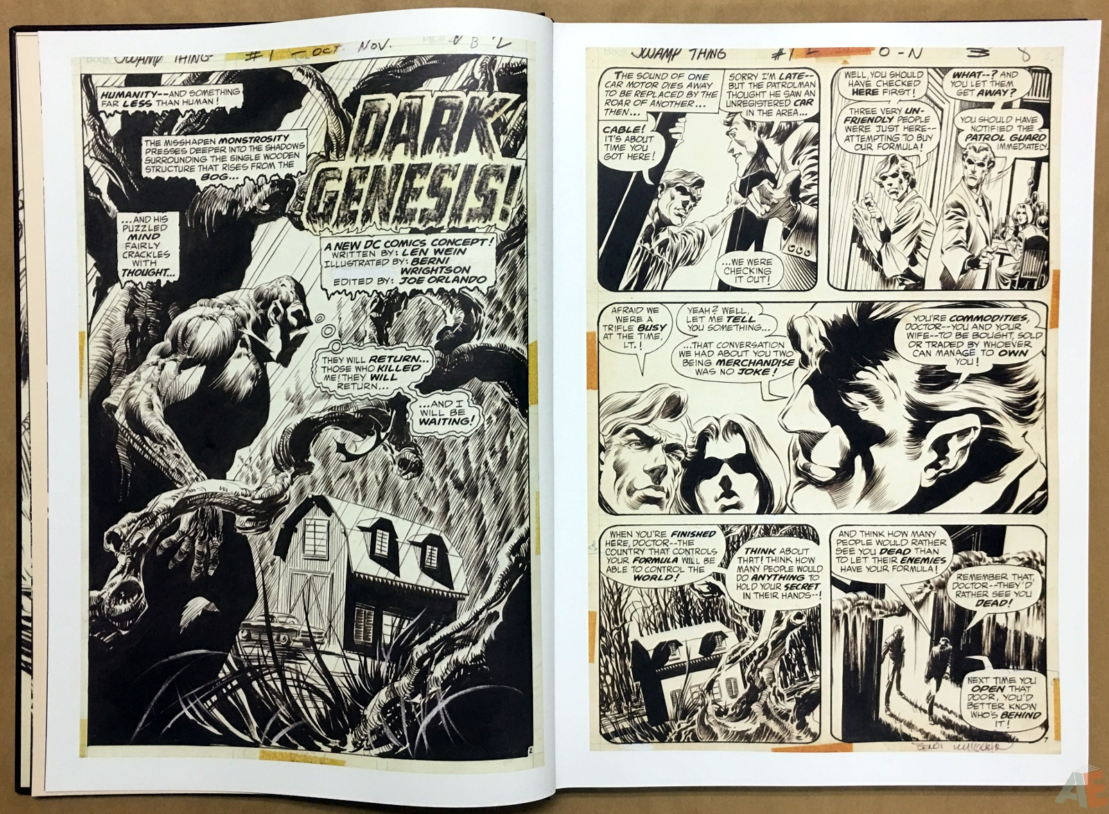 Bernie Wrightson Artifact Edition 10