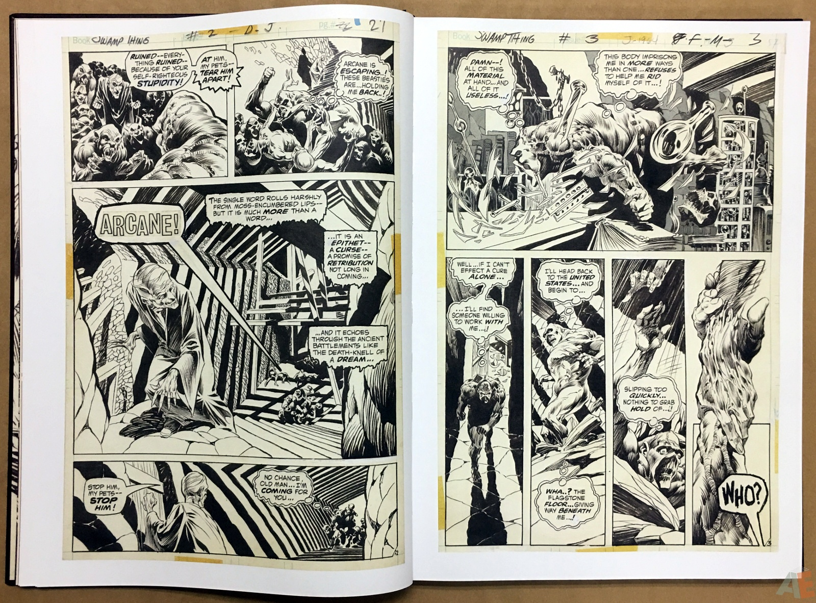 Bernie Wrightson Artifact Edition 12