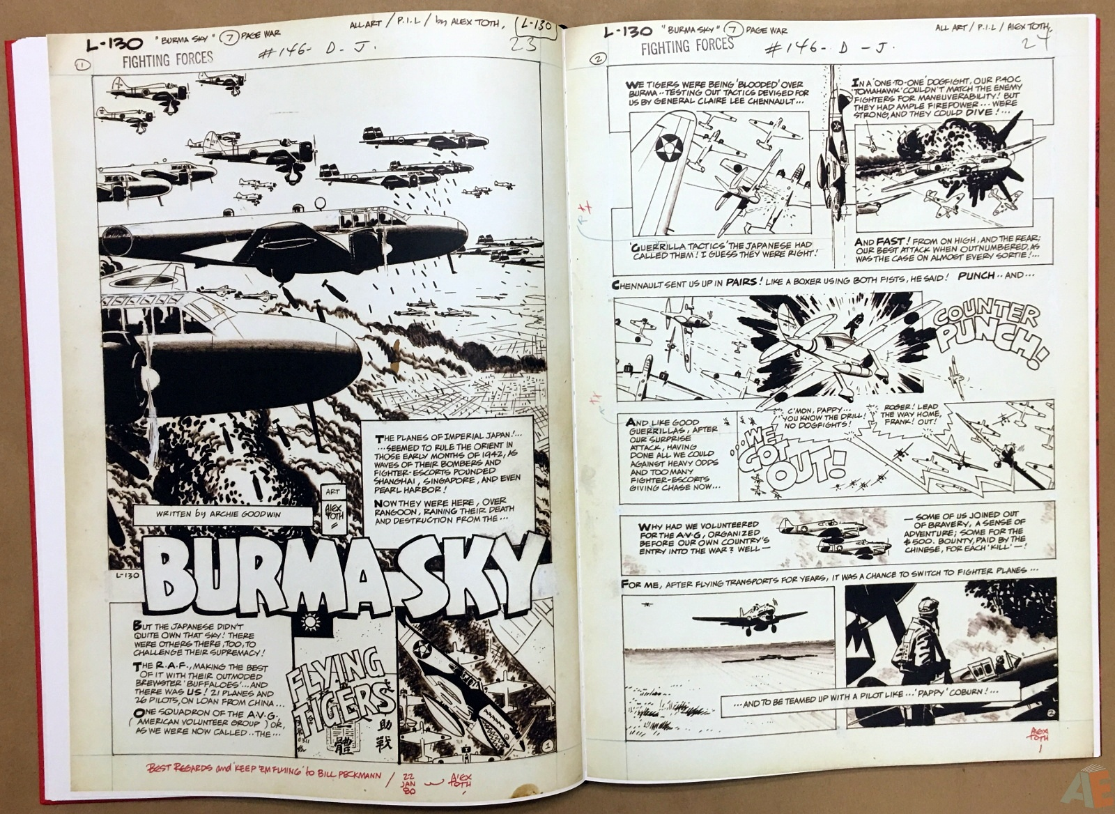 Best of DC War Artist's Edition 22