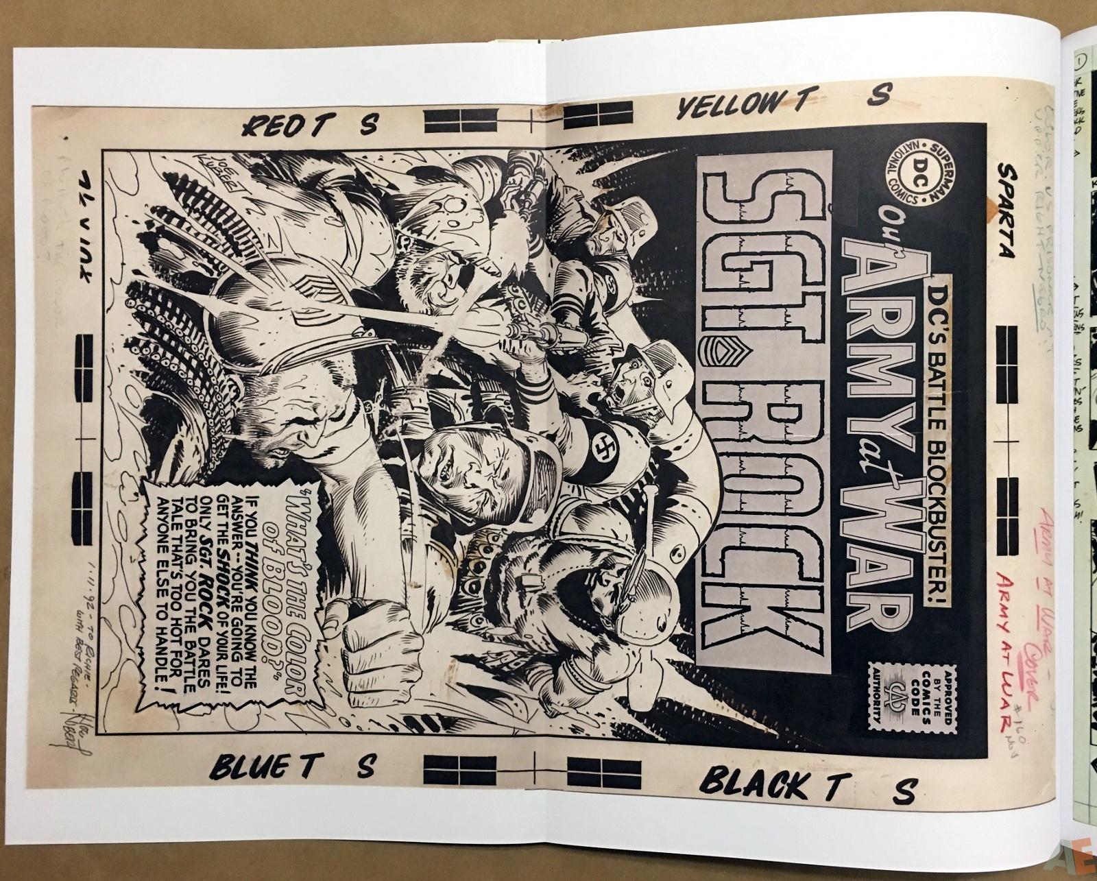 Best of DC War Artist's Edition 24